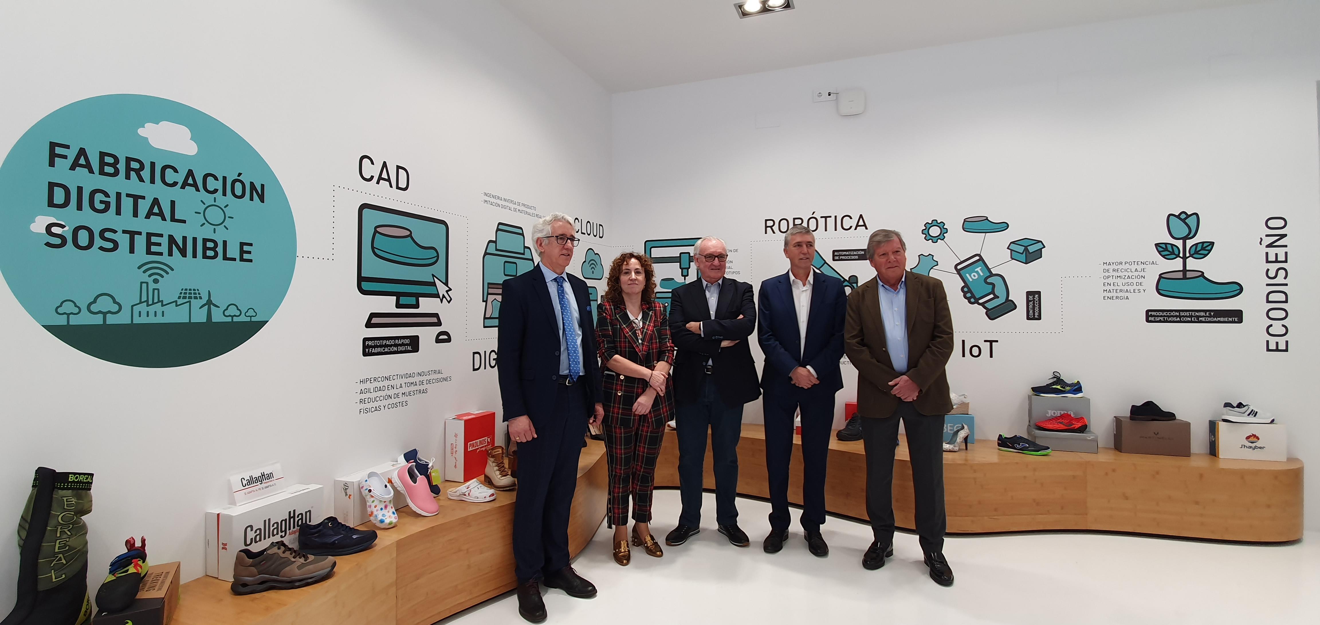"""Economia finança amb 400.000 euros el primer demostrador """"Indústria 4.0"""" per al sector del calcer amb les tecnologies habilitadores més punteres"""