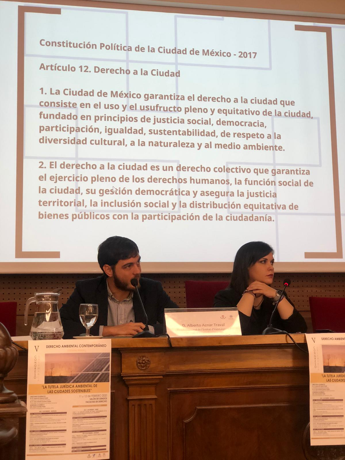 """El director general d""""EVha presenta a Salamanca les principals línies d""""actuació de la Conselleria d""""Habitatge i Arquitectura Bioclimàtica"""