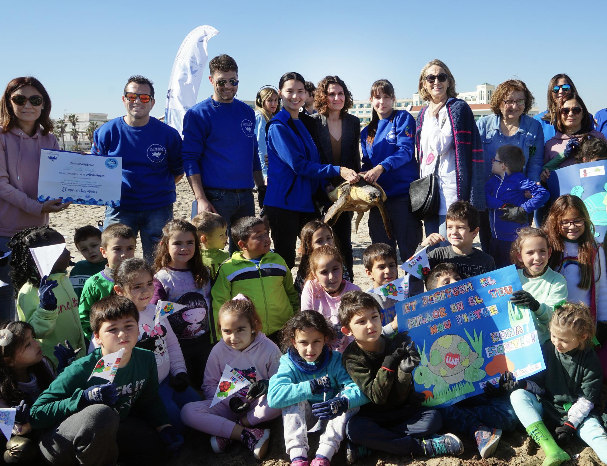 Paula Tuzón destaca la educació ambiental com a estratègia per a la conservació del medi natural