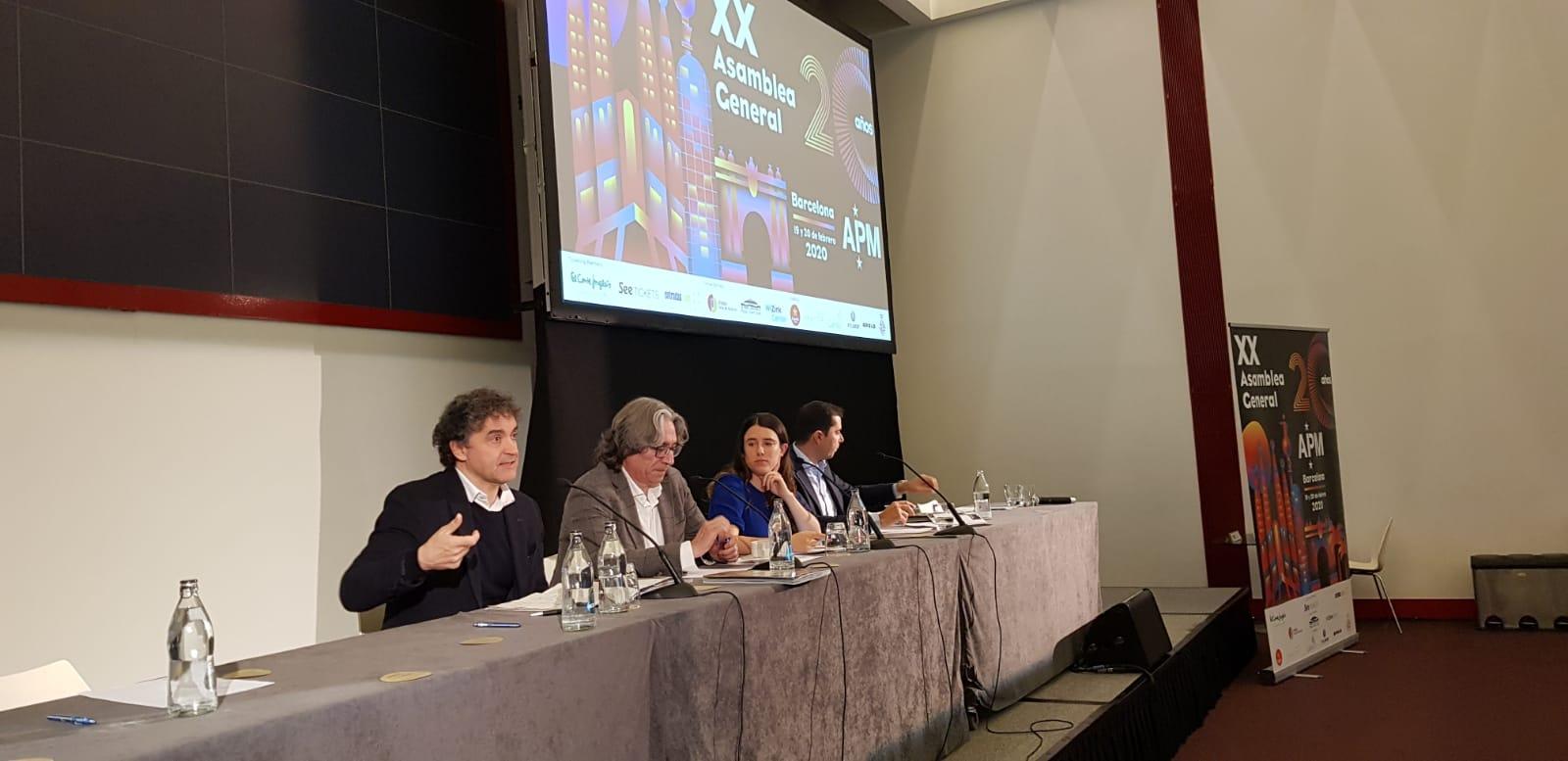 Turisme presenta su modelo de gestión de festivales en la XX asamblea general de la Asociación de Promotores Musicales
