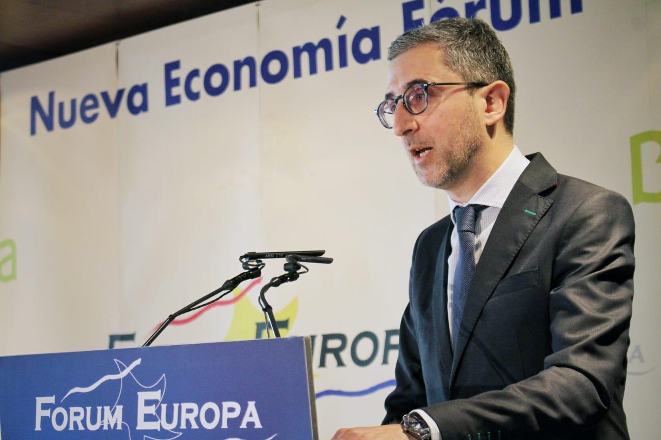 """Arcadi España: """"La ley debería considerar que los puertos con beneficios destinen un porcentaje a inversiones sostenibles en su área de influencia"""""""