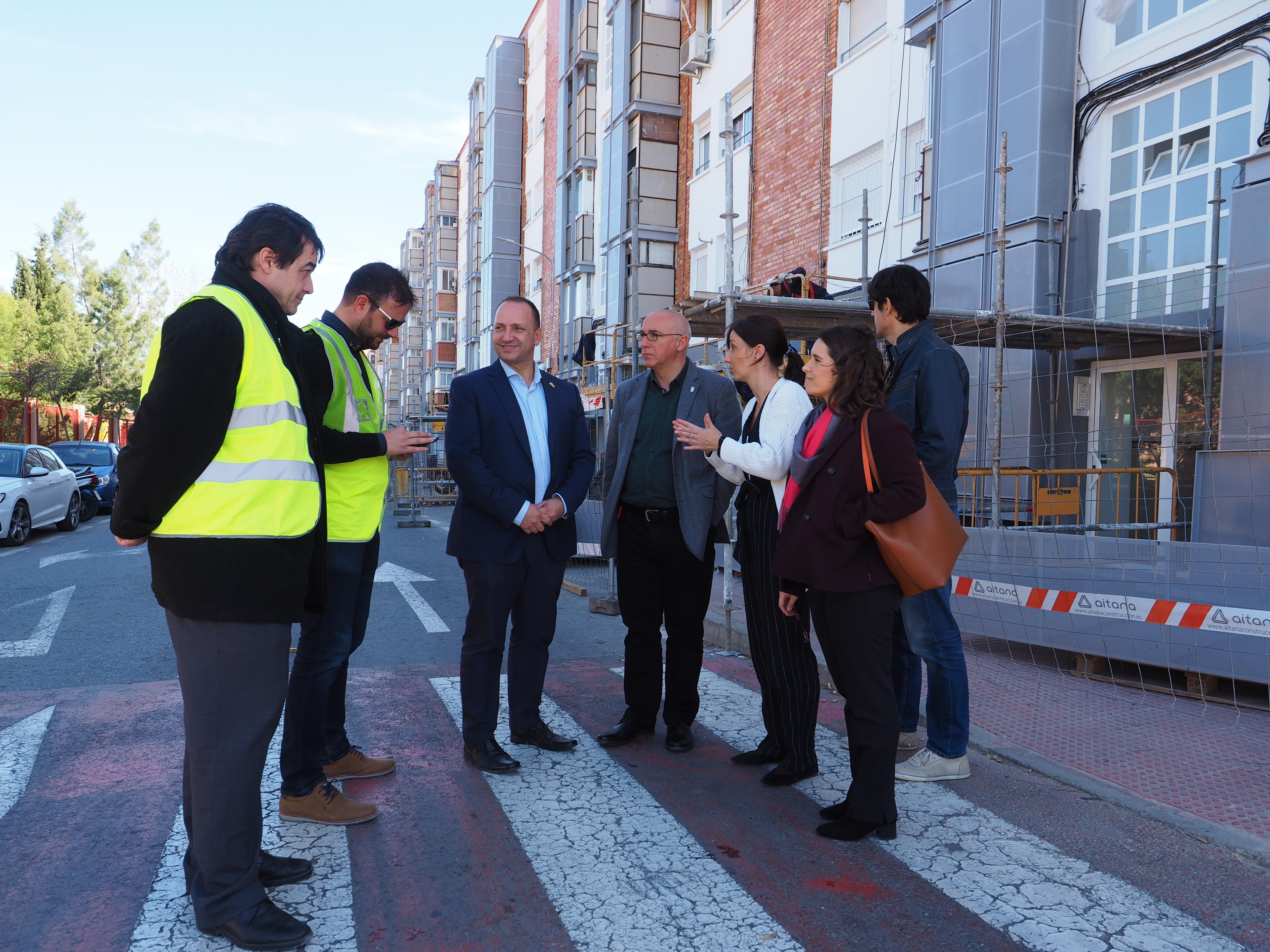 Martínez Dalmau apuesta por la rehabilitación de 192 viviendas en Sant Vicent del Raspeig cuyas obras finalizarán a principios de 2021