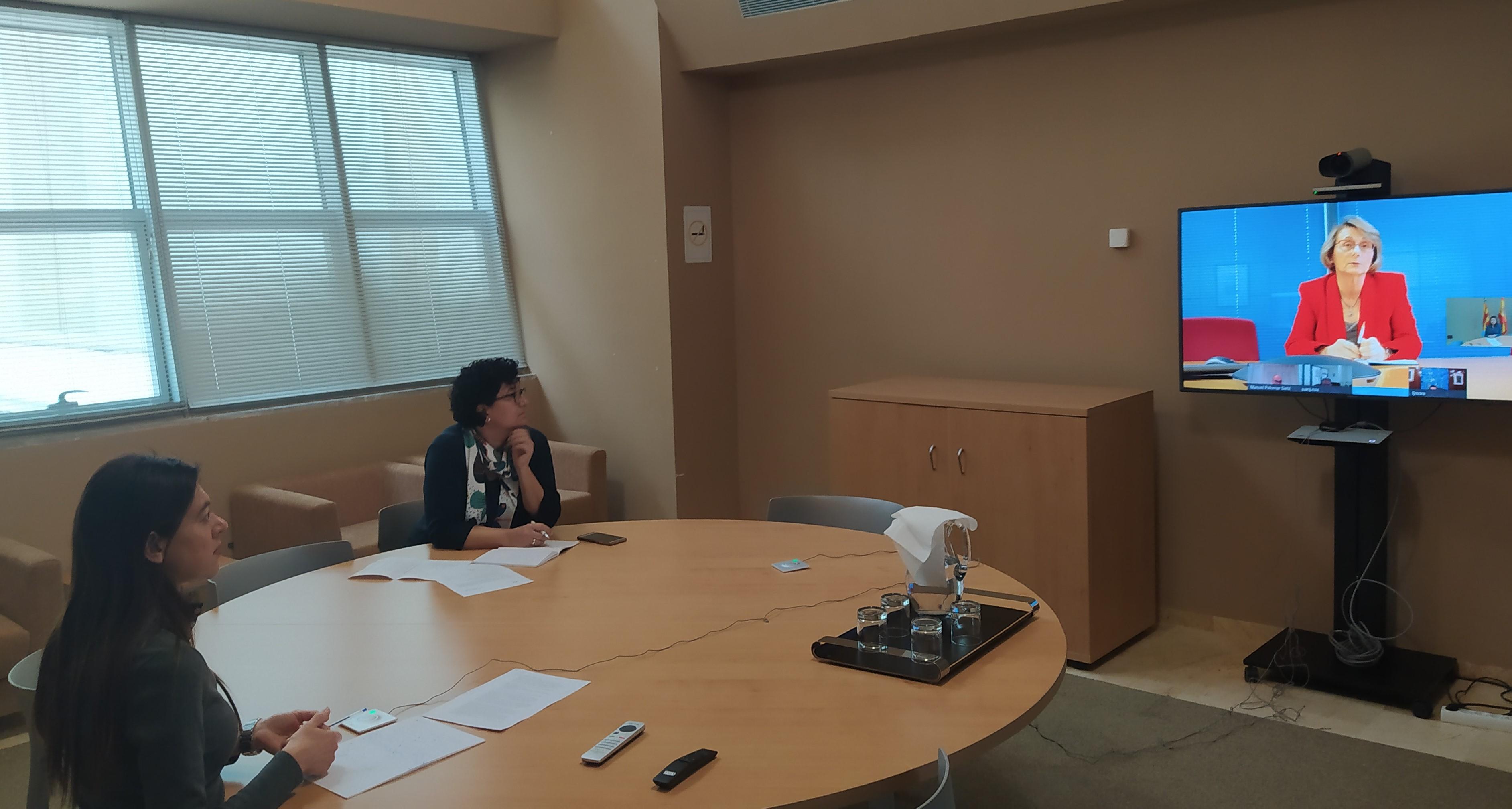 Carolina Pascual destaca el esfuerzo y la colaboración de las universidades valencianas para minimizar el impacto del COVID-19 en la Comunitat Val...