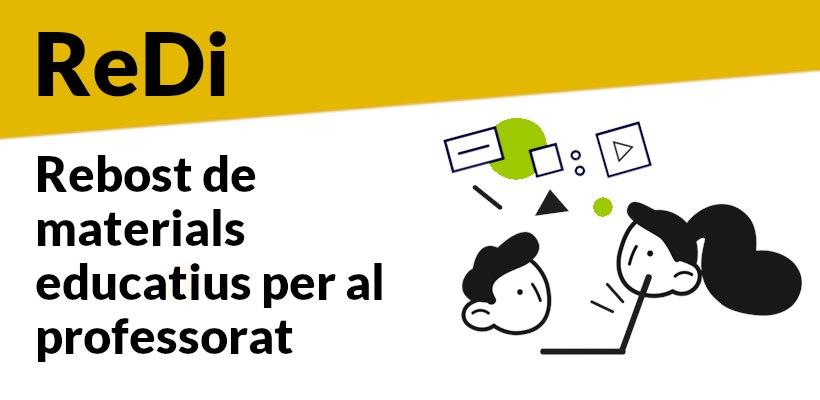 """Educació activa el """"Rebost Digital"""", un espai web amb material didàctic per a totes les etapes educatives"""