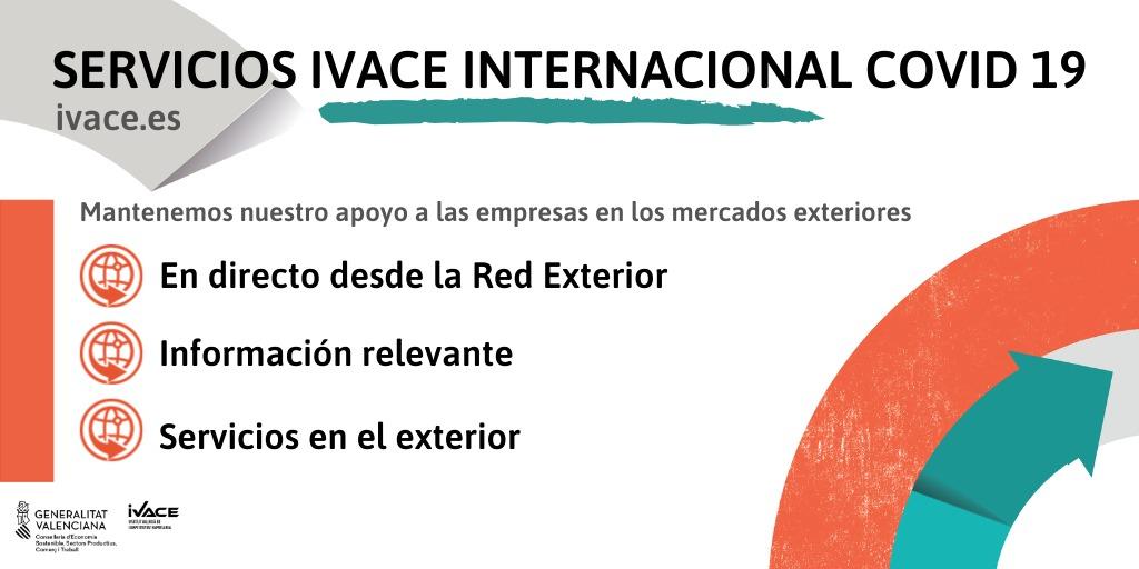 """Economia Sostenible manté el suport a les empreses en els mercats exteriors a través d""""Ivace Internacional"""