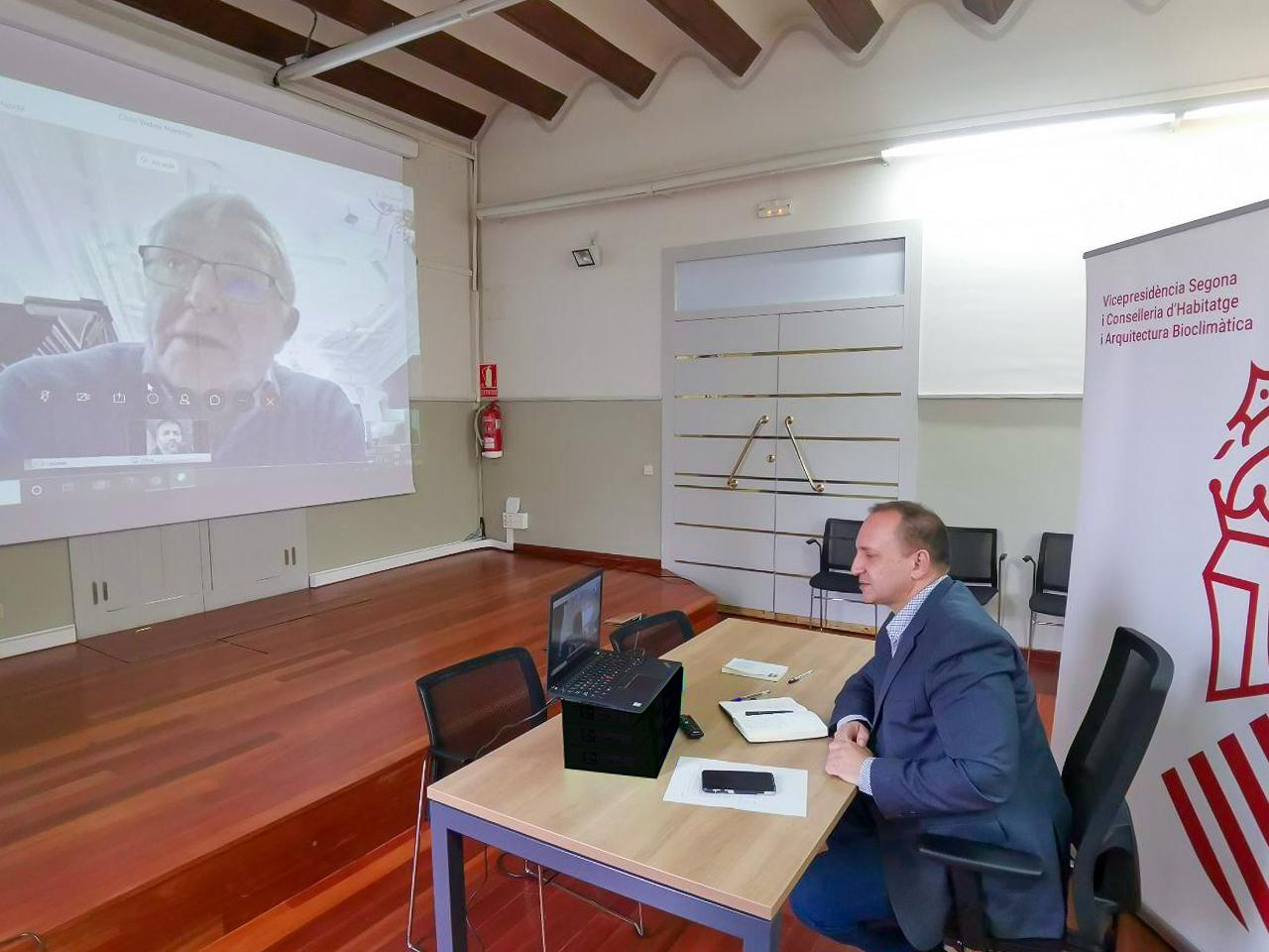 Martínez Dalmau y el alcalde de València coinciden en la necesidad de sincronizar actuaciones para dar respuestas a las necesidades en vivienda