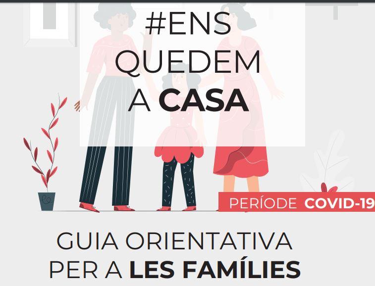"""Educación y el Colegio Oficial de Psicología lanzan la guía """"Nos quedamos en casa"""" con orientaciones para las familias"""