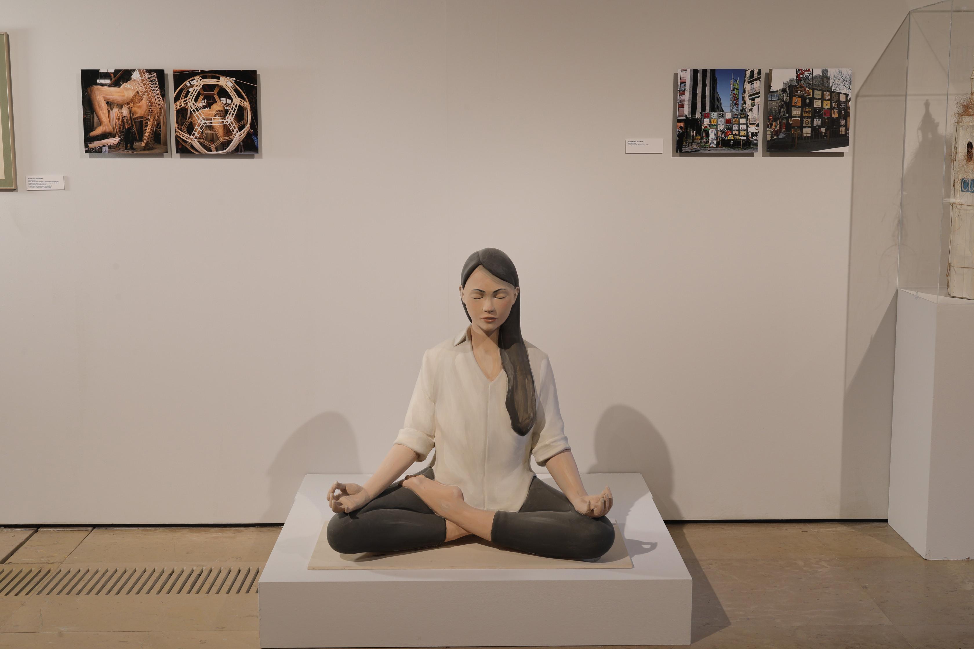 """El Centre del Carme oferirà una classe de meditació i ioga en línia en directe, a proposta d""""Escif"""