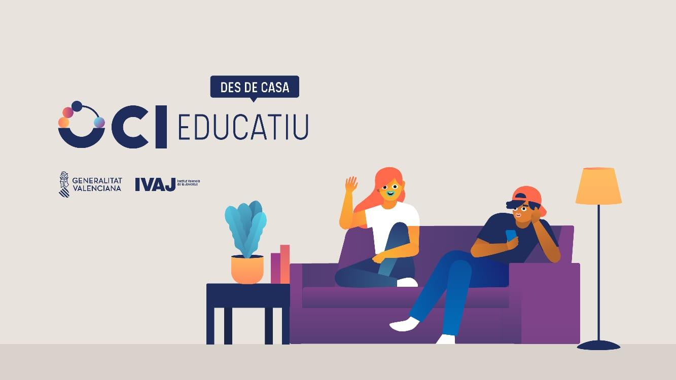 El IVAJ abre la plataforma de ocio educativo #IVAJDesdeCasa con propuestas participativas y de voluntariado a través de las redes sociales