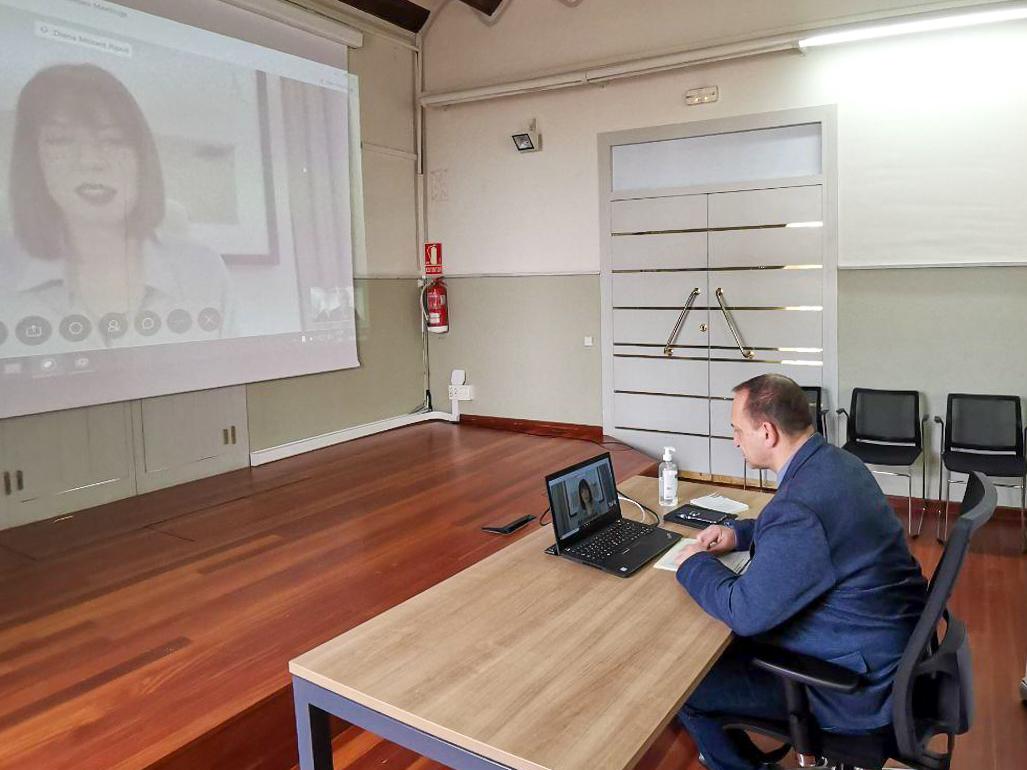 Martínez Dalmau i Diana Morant analitzen les mesures en habitatge per a abordar la crisi per COVID-19 a Gandia