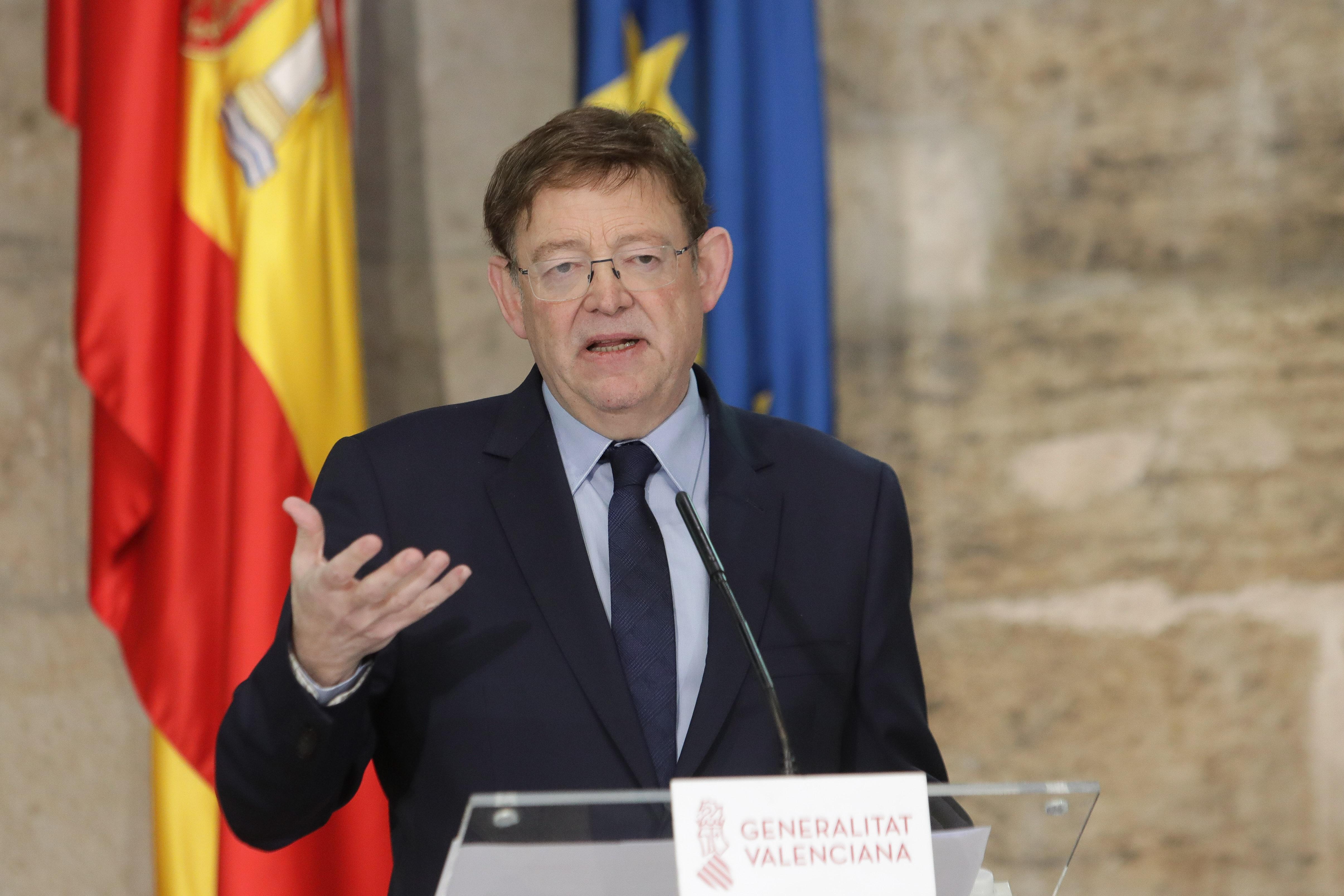 """Ximo Puig destaca que la Comunitat Valenciana estarà en condicions de complir els criteris fixats pel Govern per a l""""inici de la desescalada"""