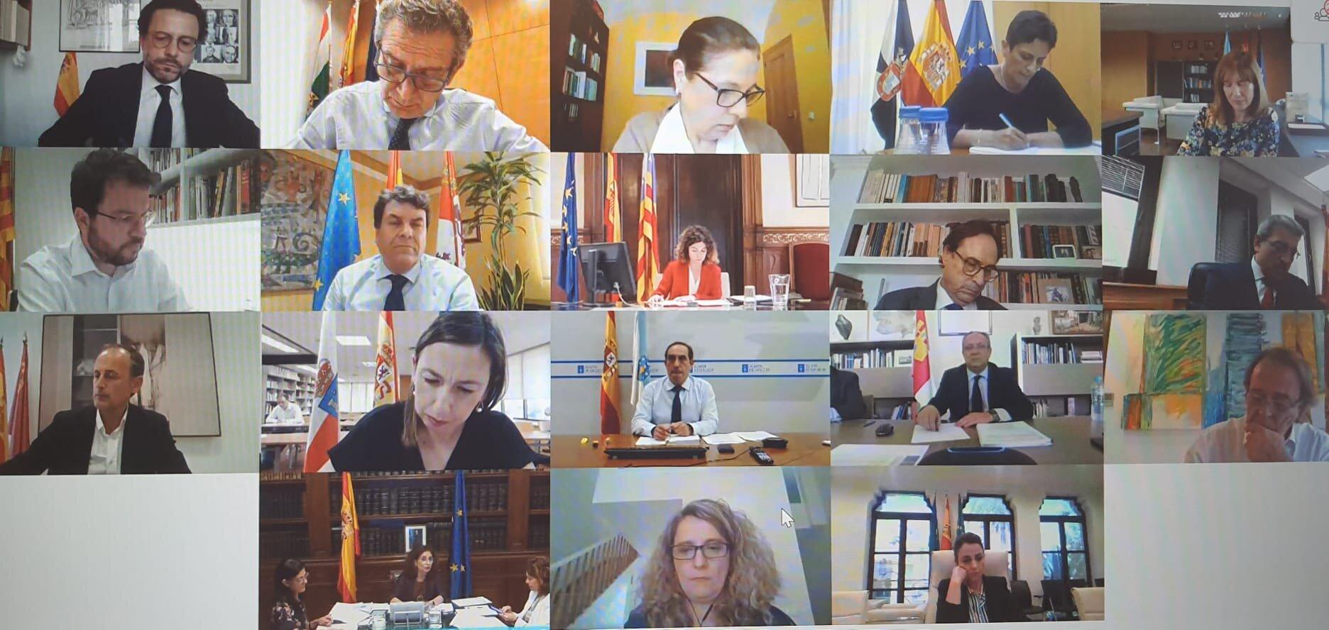 """Soler valora la injecció de 16.000 milions del Govern a les comunitats enfront de la pandèmia, """"sense precedents a l""""Espanya autonòmica"""""""