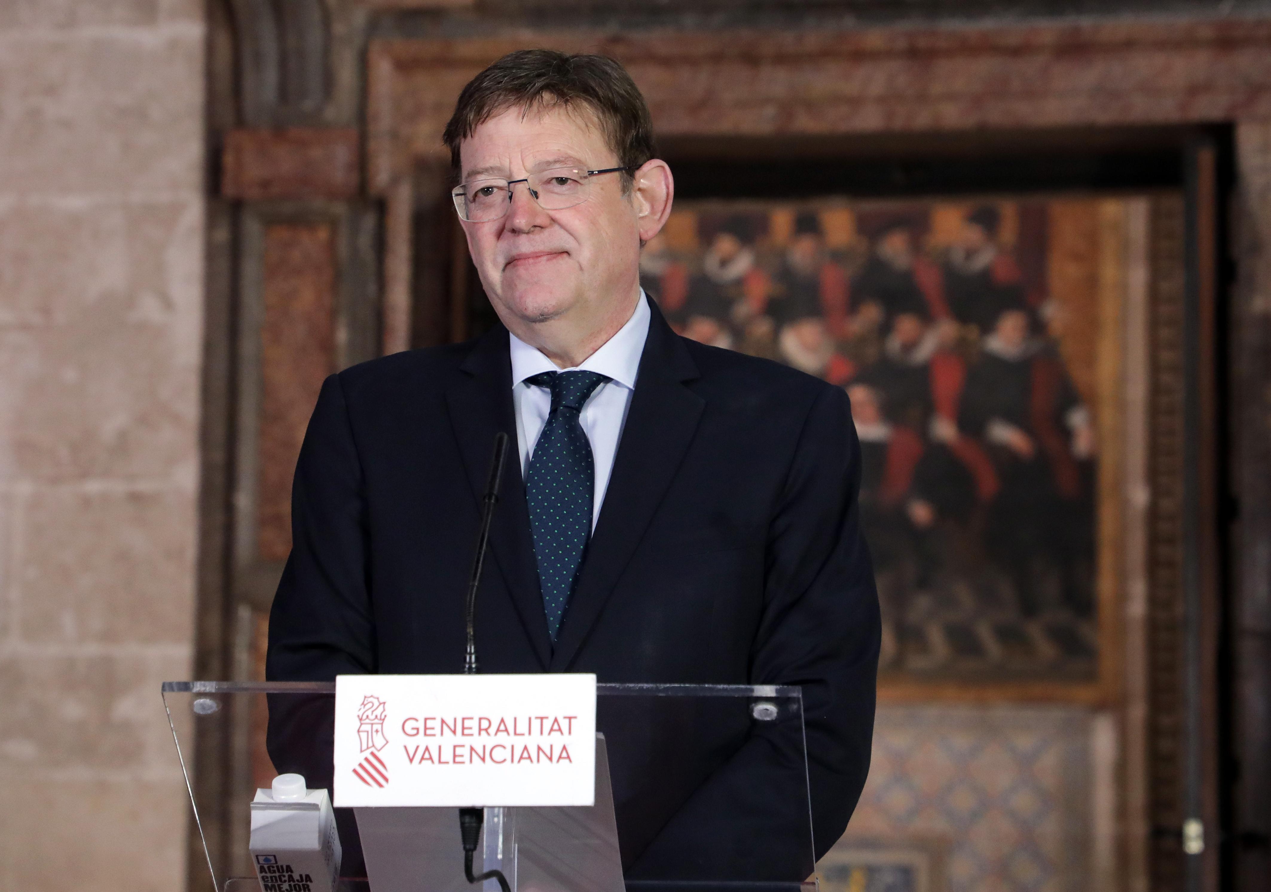 """Ximo Puig reclama """"discriminació positiva i flexibilitat"""" en favor del sector turístic de la Comunitat Valenciana"""