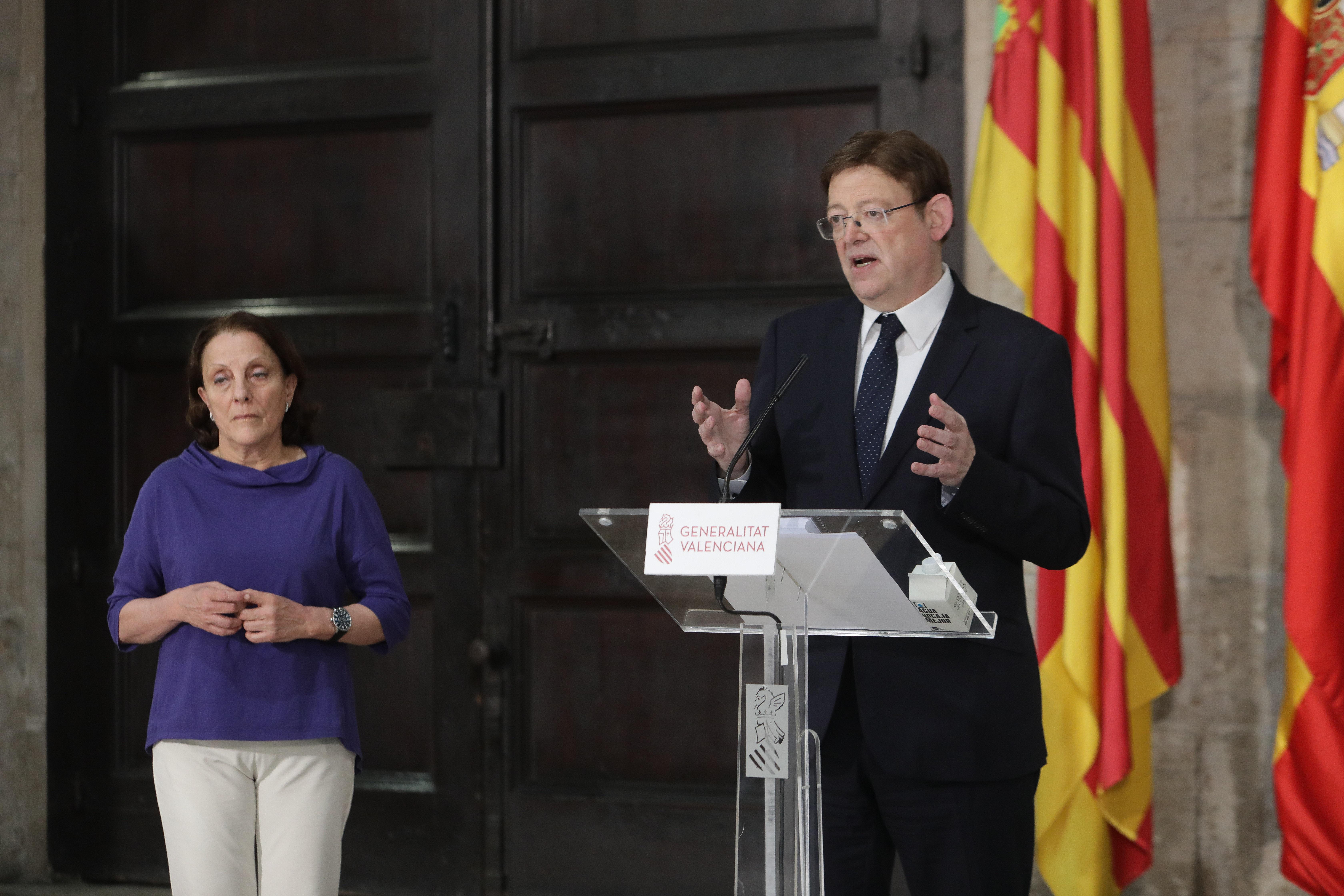 """Ximo Puig pide """"transparencia, reciprocidad y reglas objetivas"""" para mejorar la cogobernanza entre el Gobierno central y las comunidades autónomas"""
