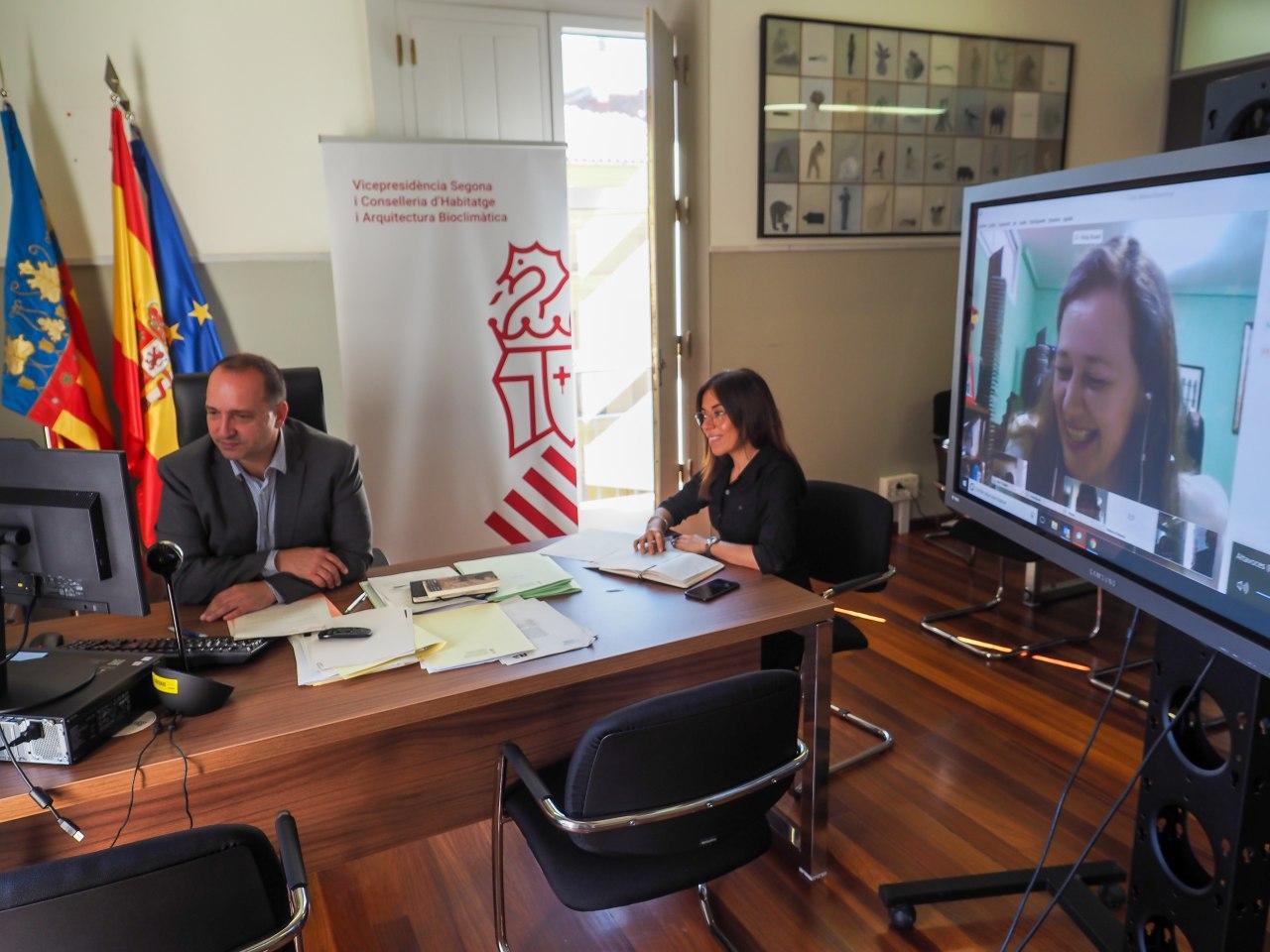 Martínez Dalmau anuncia que el 10 % de la nueva adquisición de viviendas se destinará a las víctimas de violencia de género