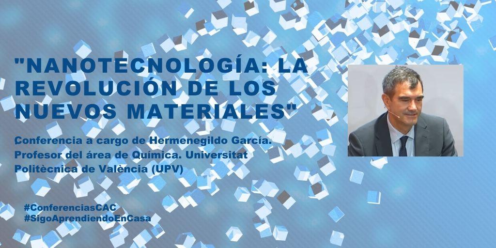 """El Museu de les Ciències recupera en línia la conferència """"Nanotecnología: la revolución de los nuevos materiales"""" en el canal #SigoAprendiendoEnCasa"""