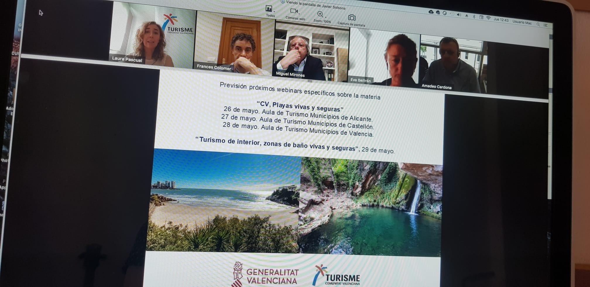 Turisme insta al Instituto para la Calidad Turística y al Gobierno central a aprobar los protocolos de seguridad de las playas que permitan concre...