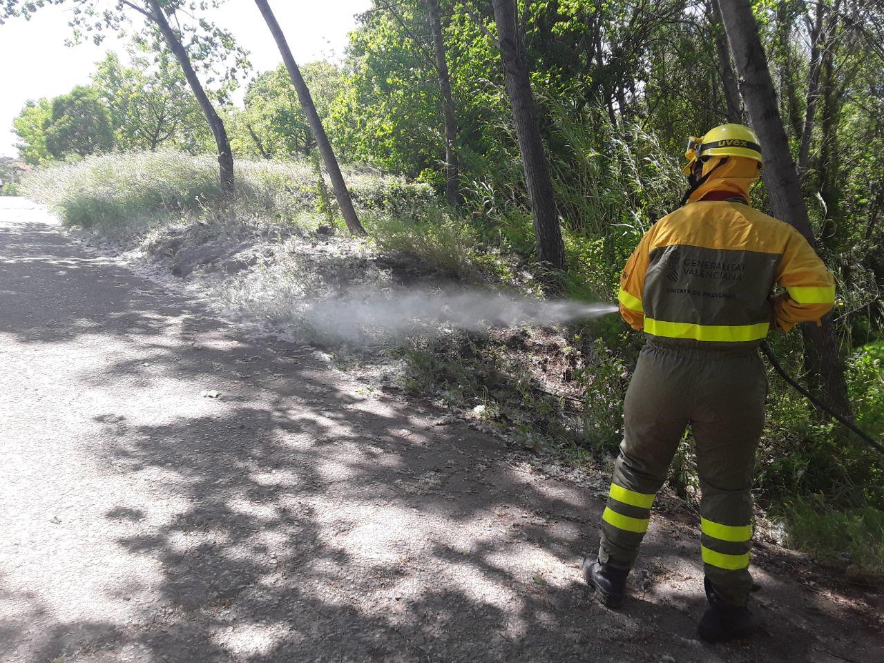 La Conselleria de Emergencia Climática refuerza los trabajos de prevención de incendios forestales ante el inicio del verano