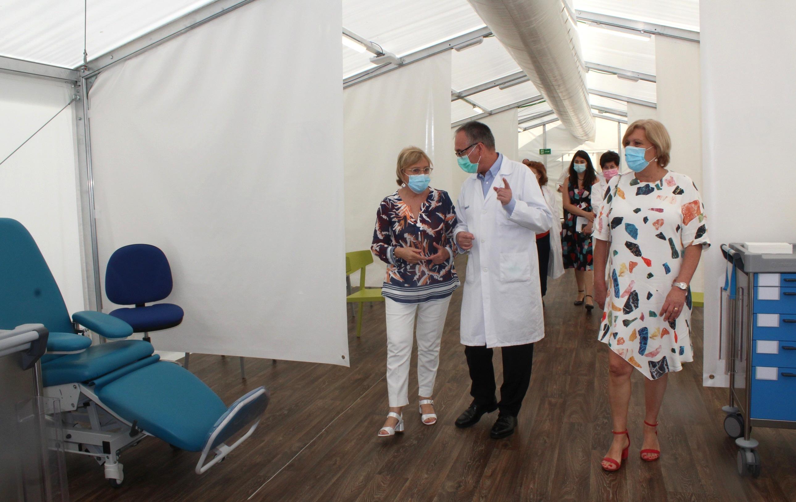 """Barceló: """"Todos los recursos sanitarios se han ido adaptando a las necesidades asistenciales de cada momento durante la pandemia"""""""