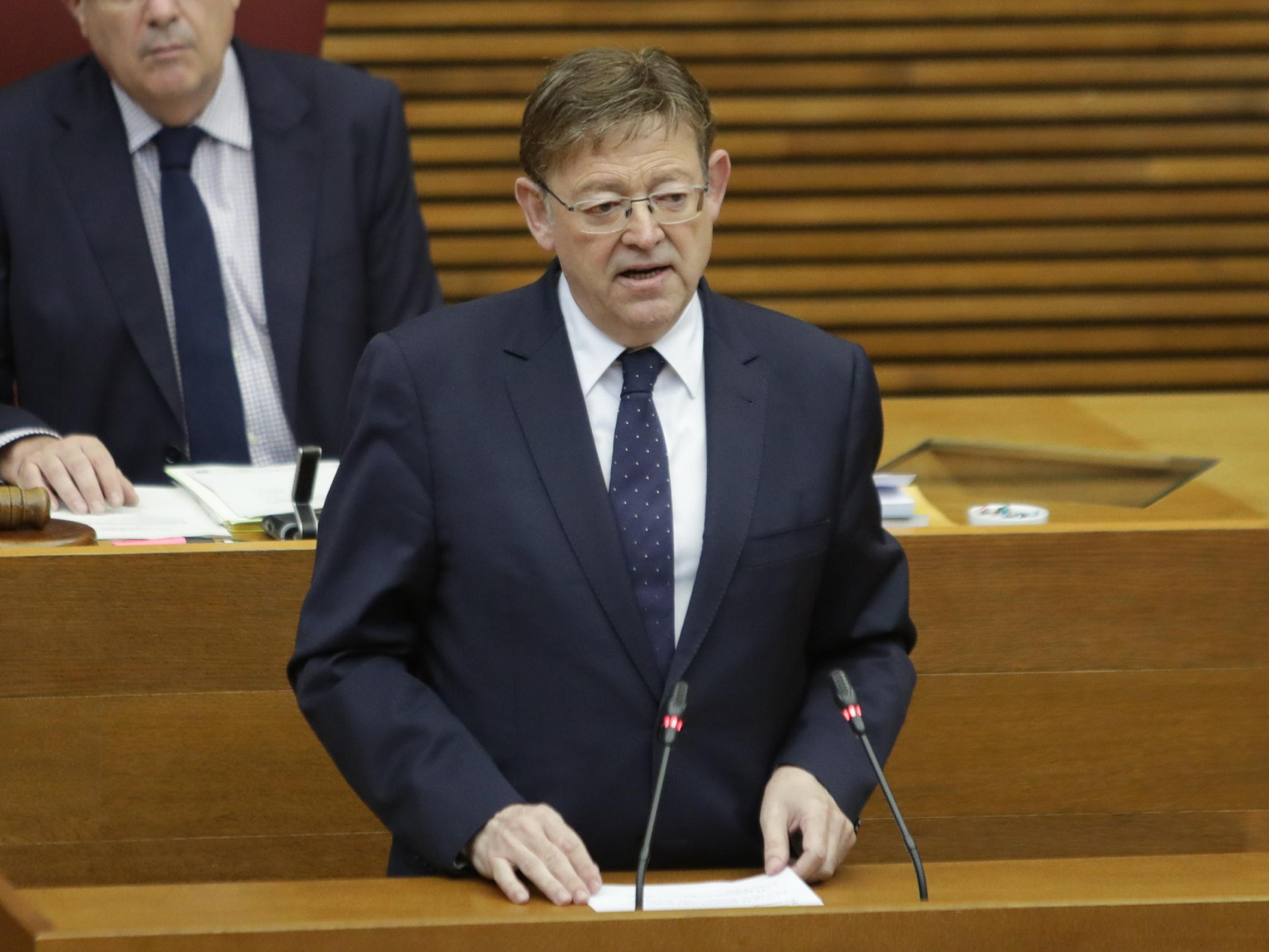 Ximo Puig anuncia una compensació econòmica extraordinària per al personal que ha estat en primera línia de la lluita contra la pandèmia