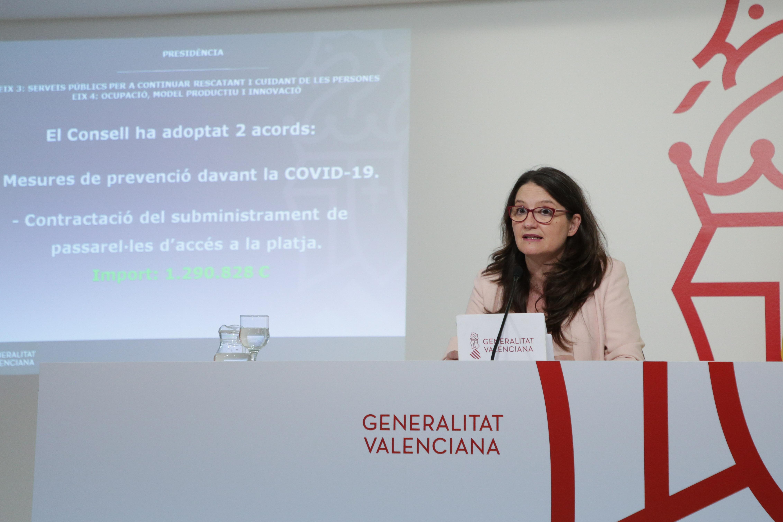 """El Consell acorda mesures de prevenció enfront de la COVID-19 a la Comunitat Valenciana davant del fi de l""""estat d""""alarma"""