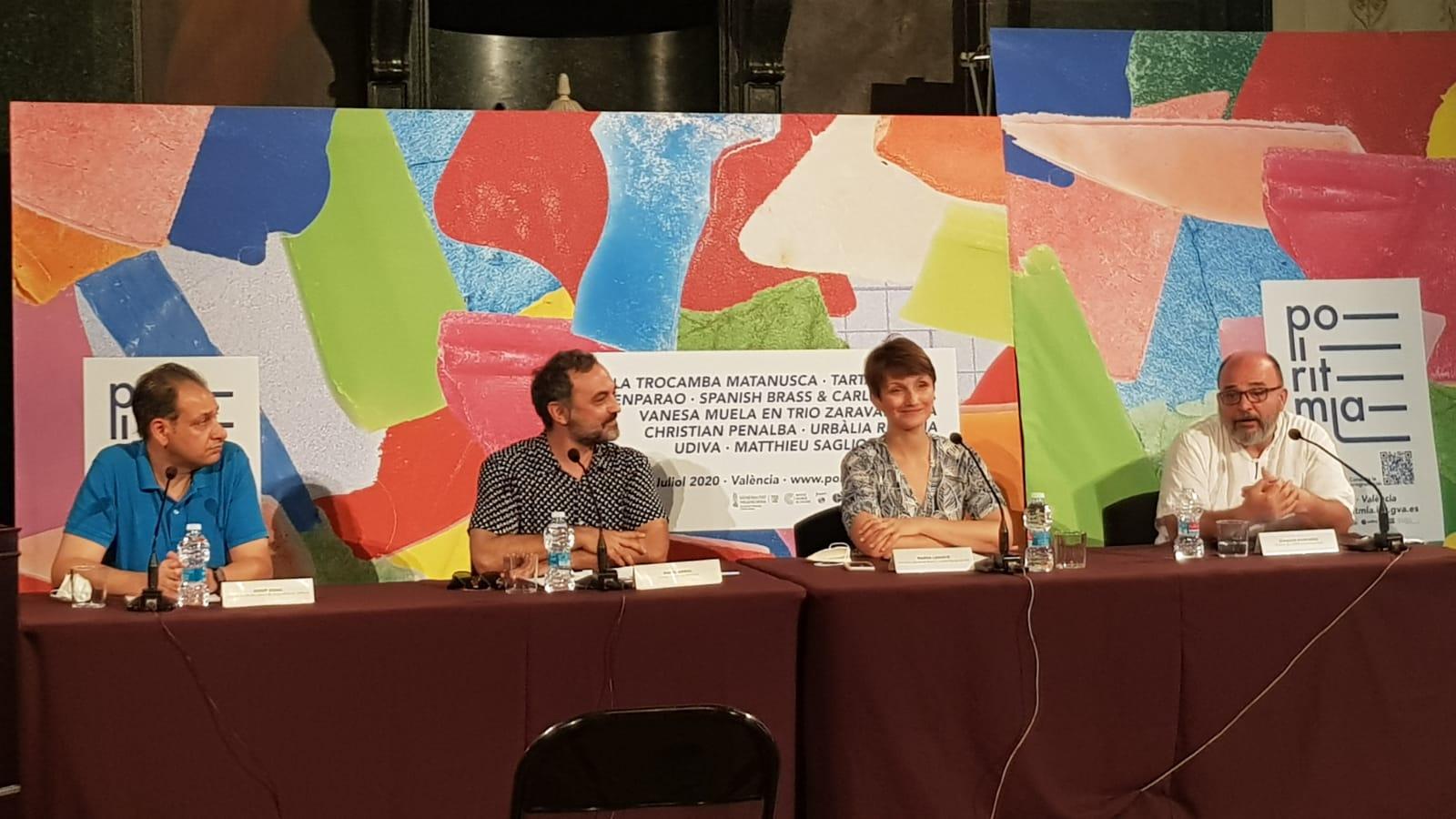 """L""""Institut Valencià de Cultura presenta el festival Polirítmia"""
