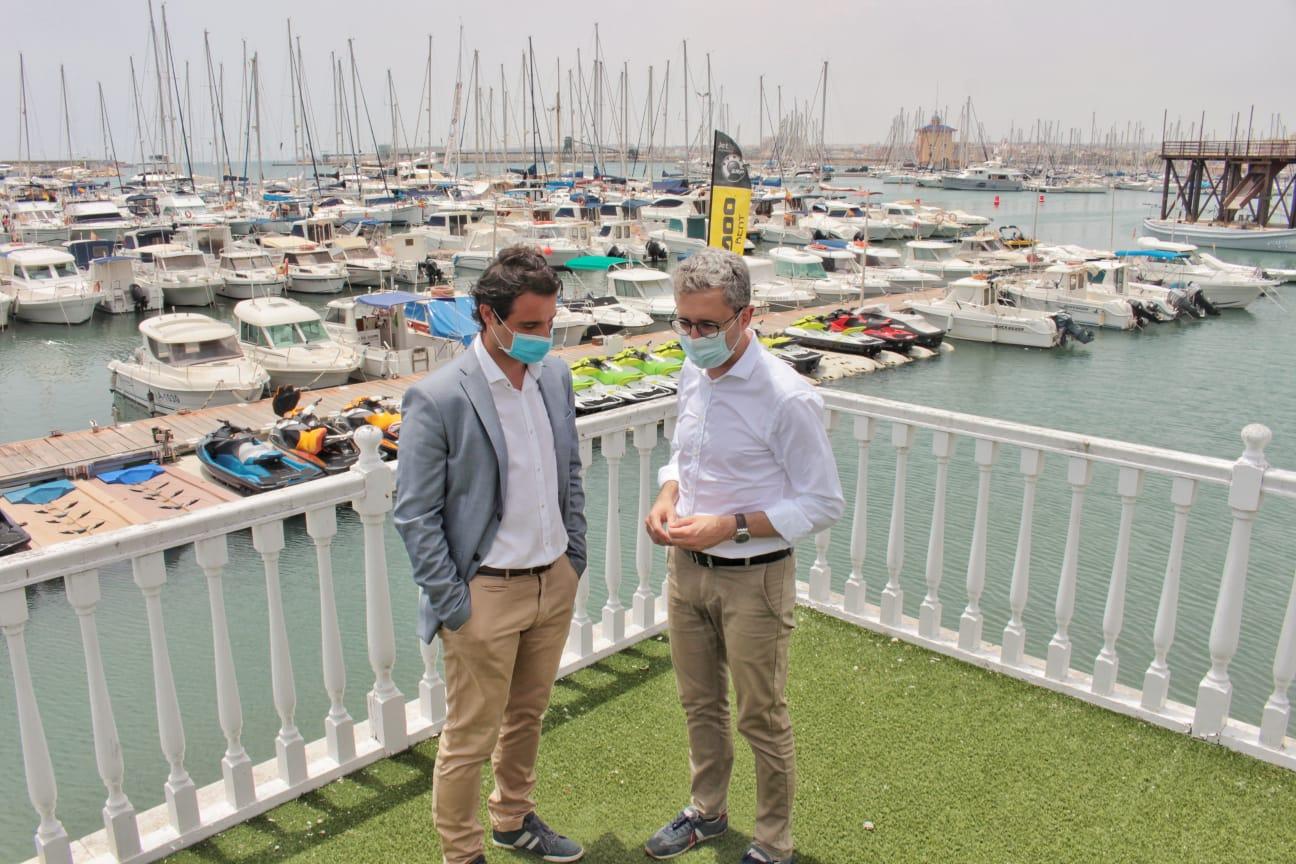 Arcadi España anuncia que el Consell aplicarà bonificacions del 50 % a les taxes portuàries de la Generalitat per a pal·liar les pèrdues originade...