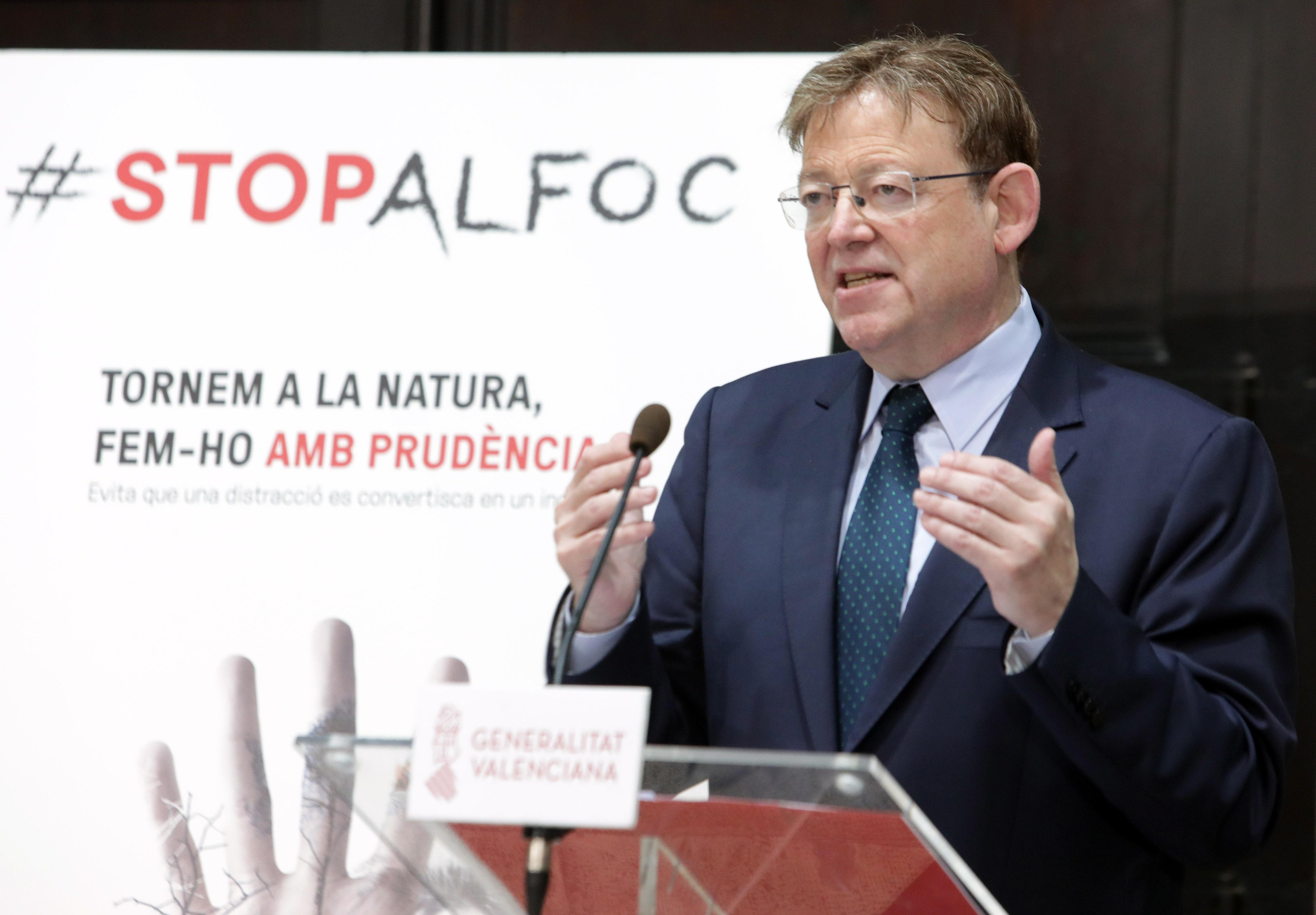 """Ximo Puig apela a la """"responsabilidad"""" y """"prudencia"""" de la ciudadanía p..."""