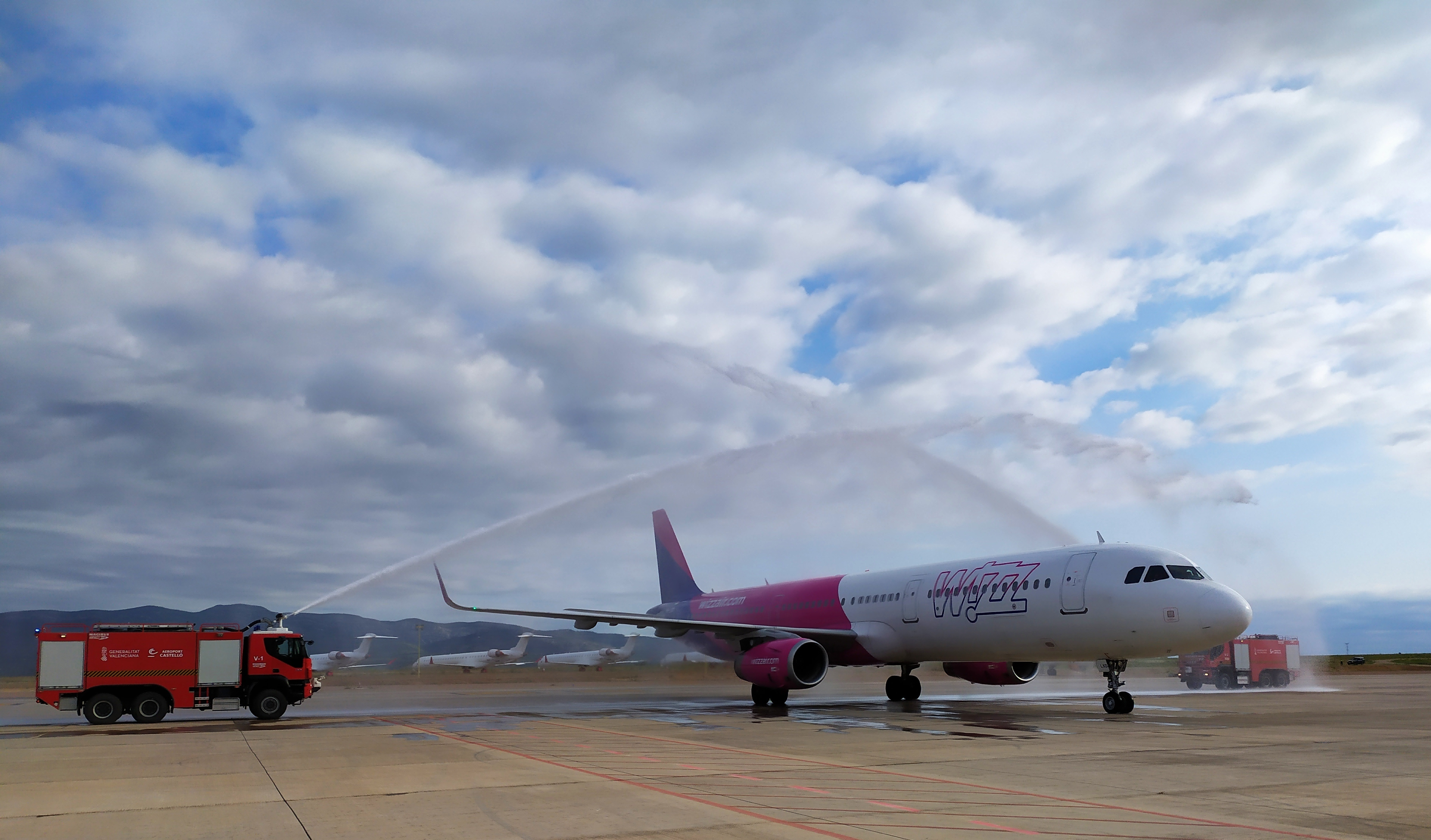 El aeropuerto de Castellón estrena una nueva ruta a Viena con dos frecuencias semanales