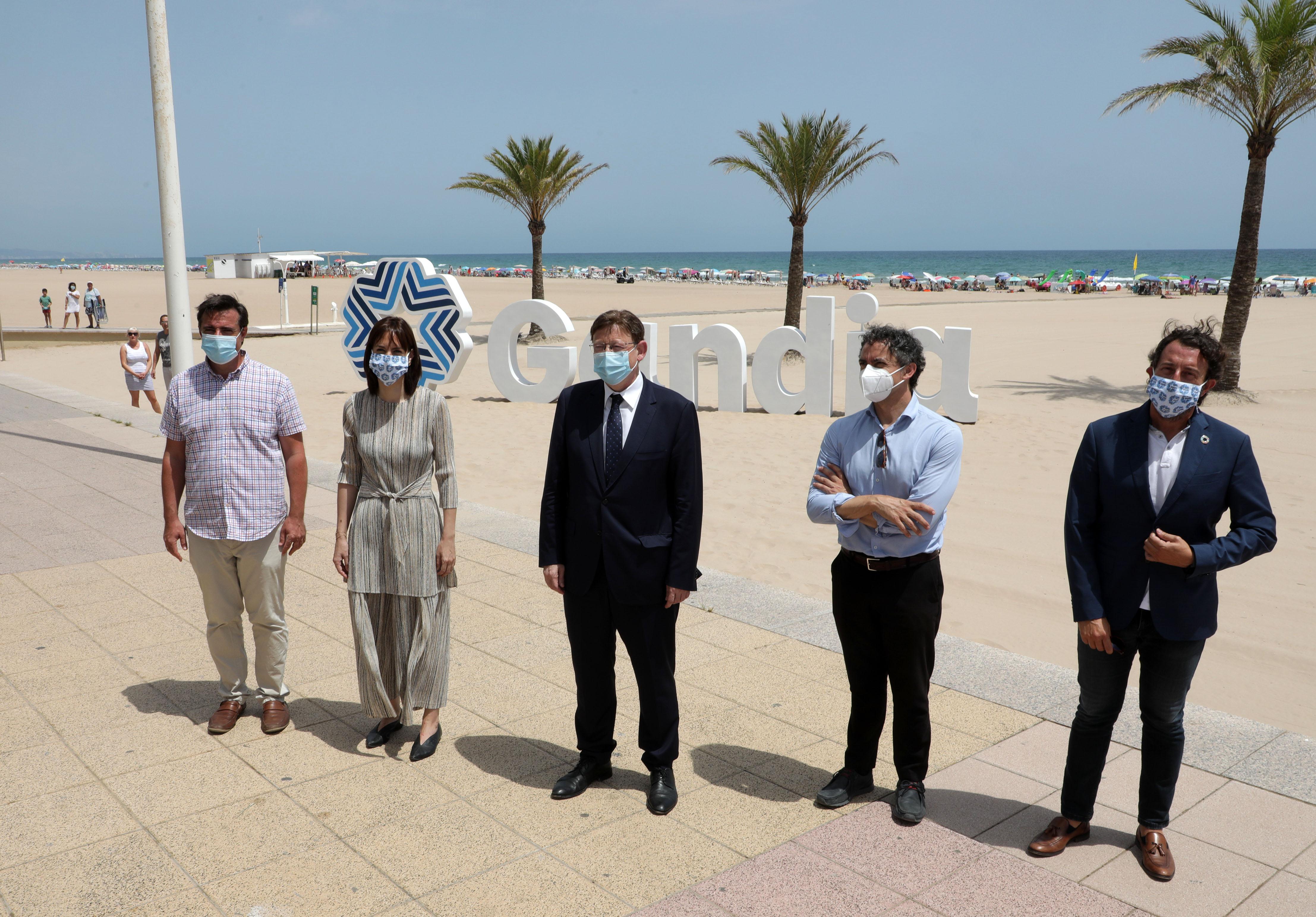 """Ximo Puig insiste en la importancia de combinar """"la mejor oferta turística"""" con un """"marco de seguridad sanitaria"""" para lograr """"los mejores resulta..."""