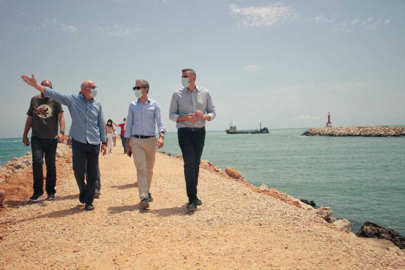 Arcadi España destaca el impulso al puerto de Cullera con una inversión de más de 632.000 euros para el dragado y una reducción del 50 % de las ta...