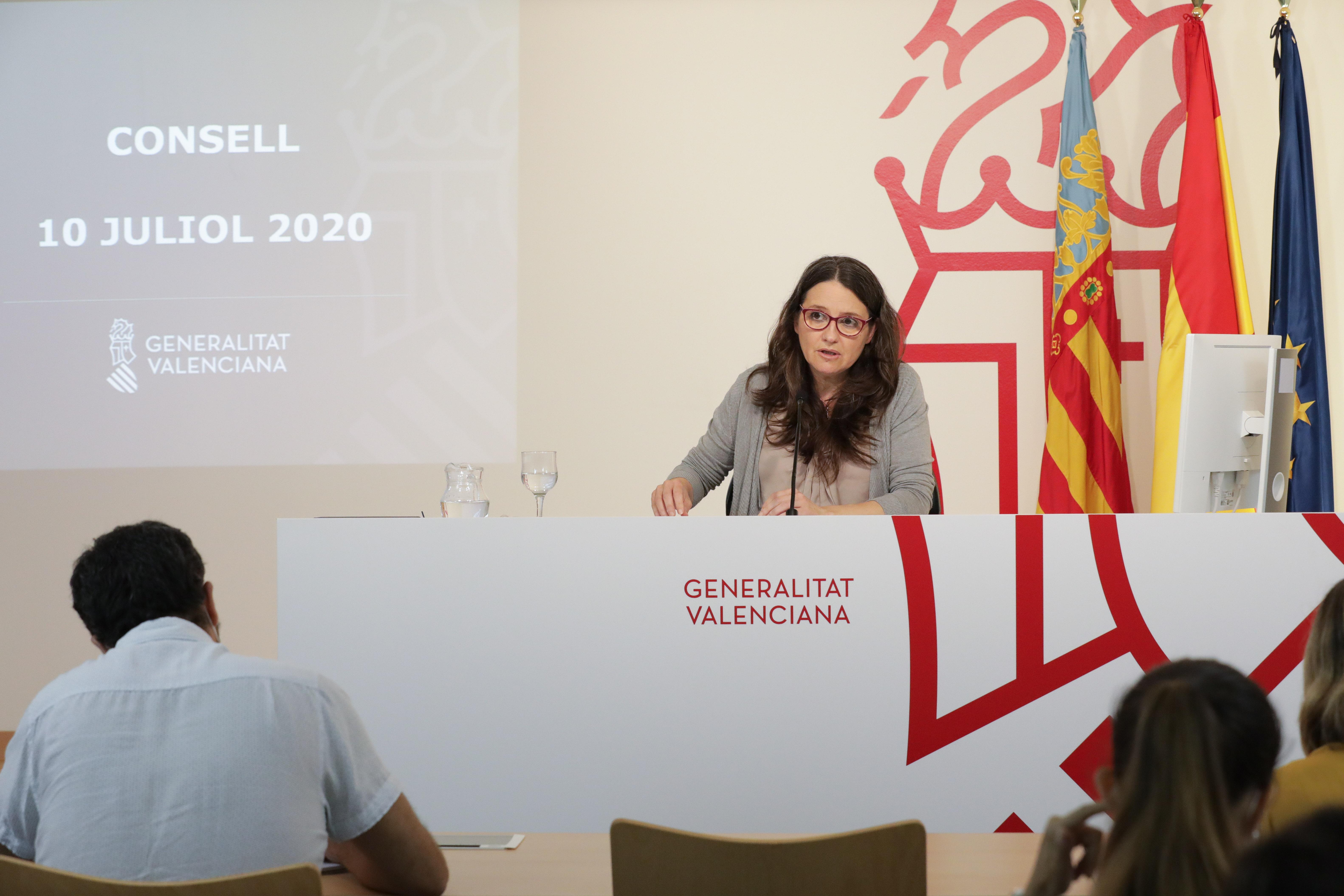 El Consell adopta medidas frente a la pandemia por la COVID-19 por valor de 3,3 millones de euros