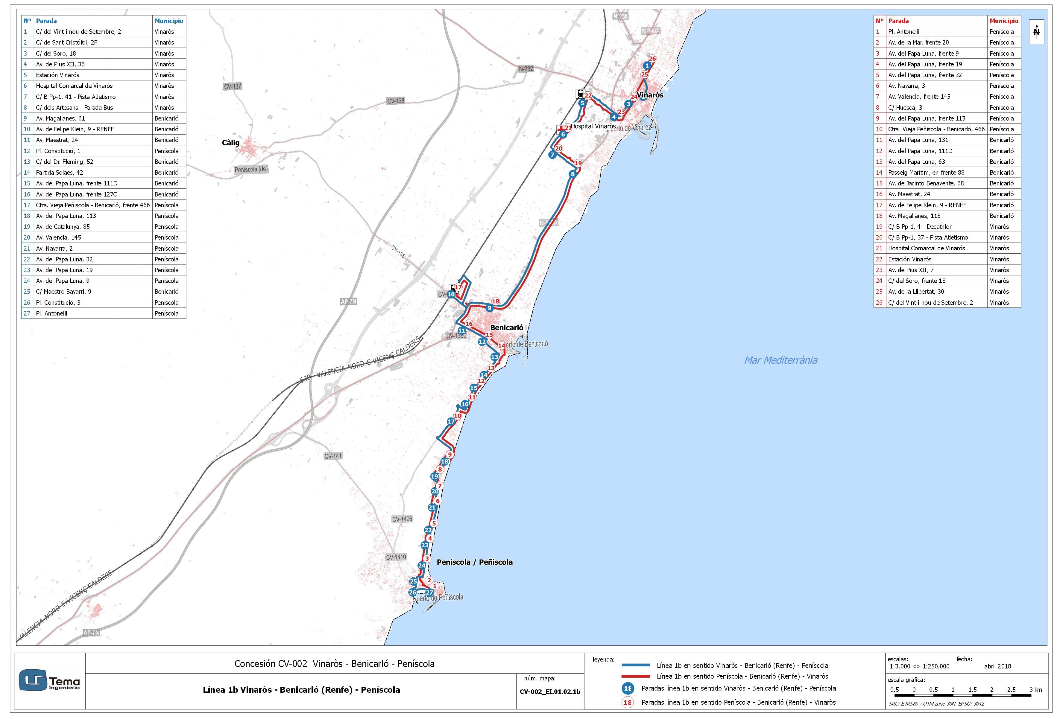 El Consell inicia la licitación del nuevo mapa concesional de transport...