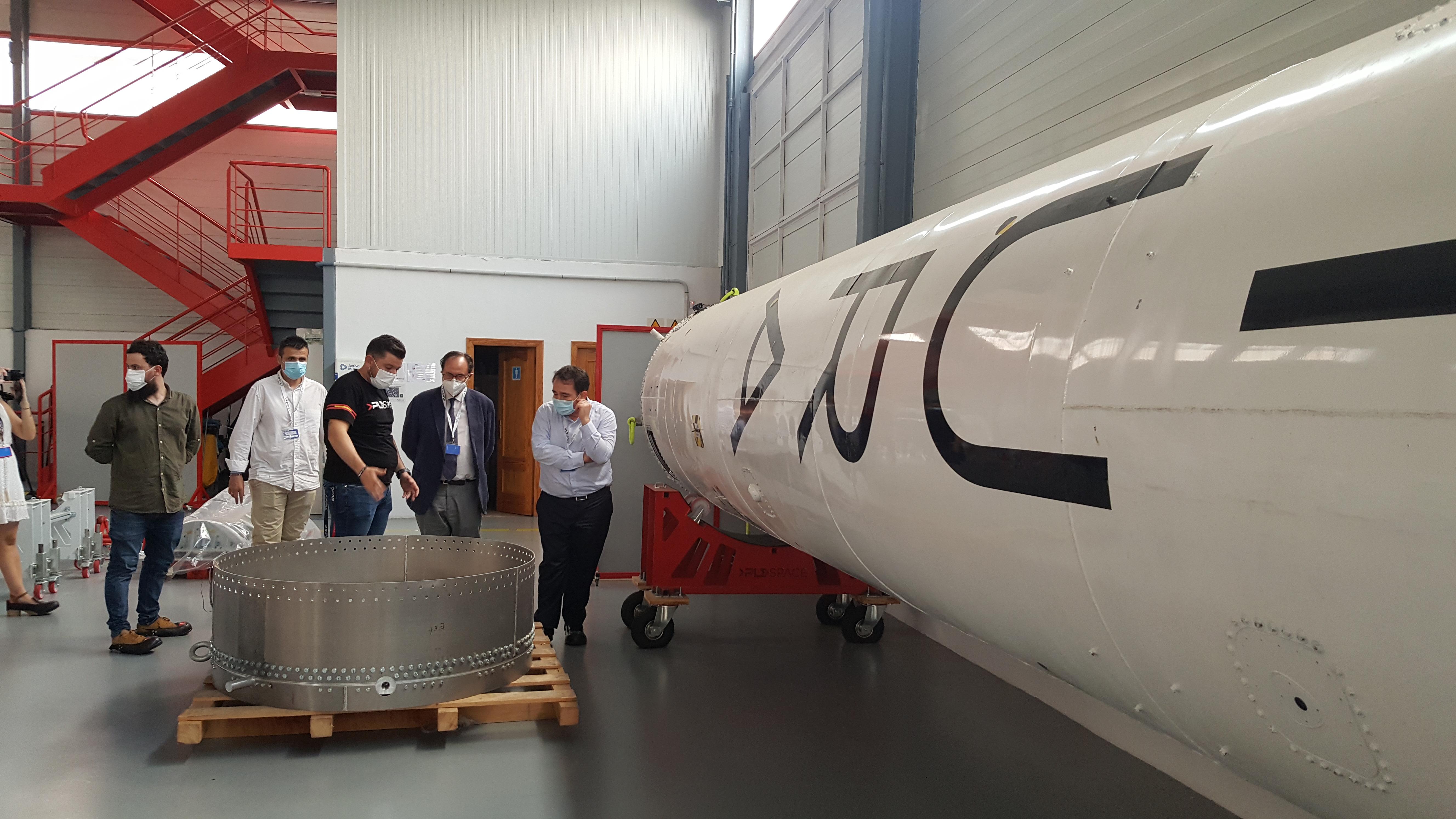 El IVF financia con dos millones de euros a la empresa valenciana de transporte aeroespacial PLD Space