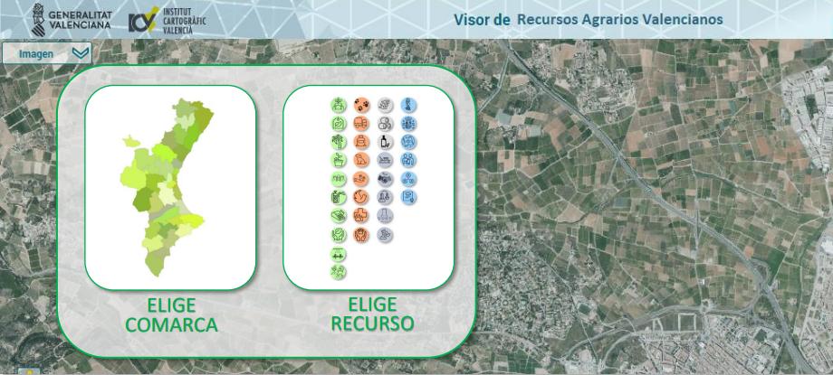 """La Conselleria de Agricultura y Transición Ecológica lanza """"ViRAMos"""", un buscador digital de recursos agroalimentarios y medioambientales"""