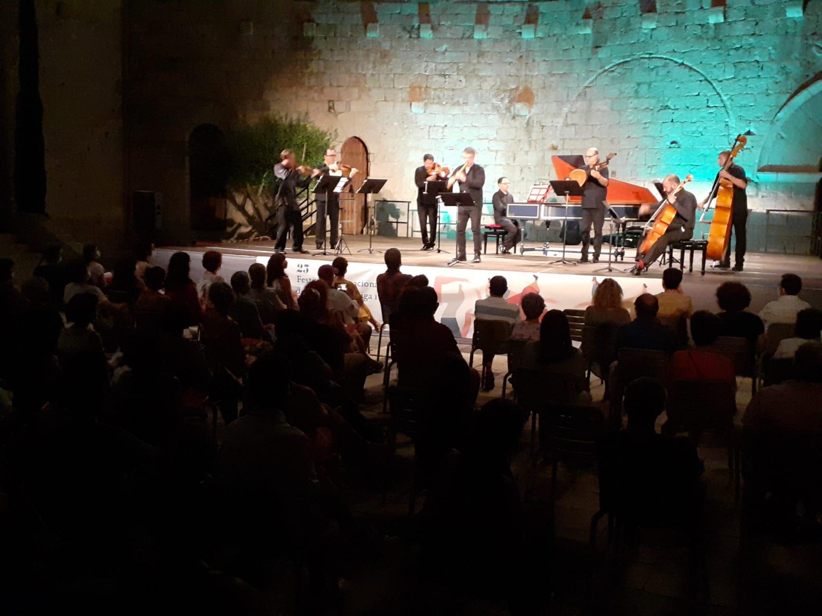 El Festival Internacional de Música Antigua y Barroca de Peñíscola concluye con éxito su XXV edición