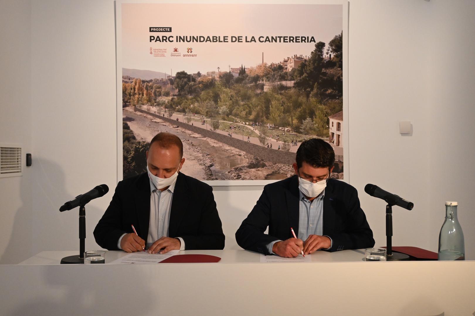 La Generalitat impulsa en colaboración con el Ayuntamiento de Ontinyent la regeneración urbana de Cantereria