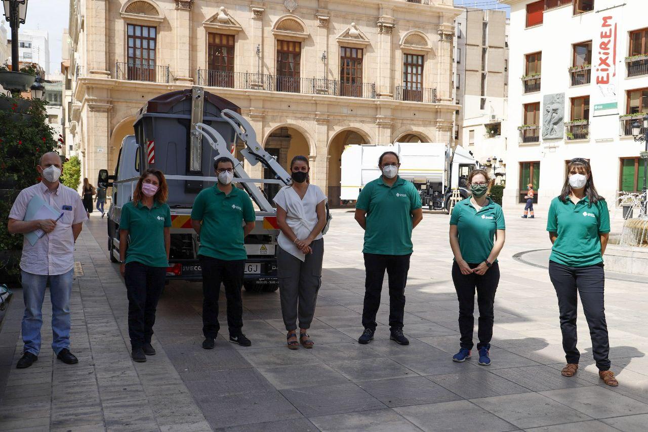 """Mollà destaca la educación ambiental como """"nueva herramienta de gestión de proximidad"""" de residuos en la presentación de la campaña """"Un marró de t..."""