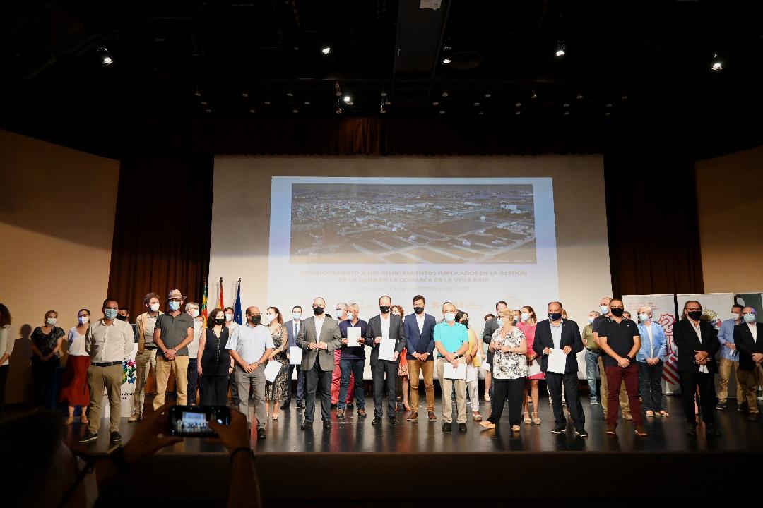 """Martínez Dalmau agradece a los ayuntamientos de la Vega Baja su """"colaboración en la gestión"""" de la DANA"""