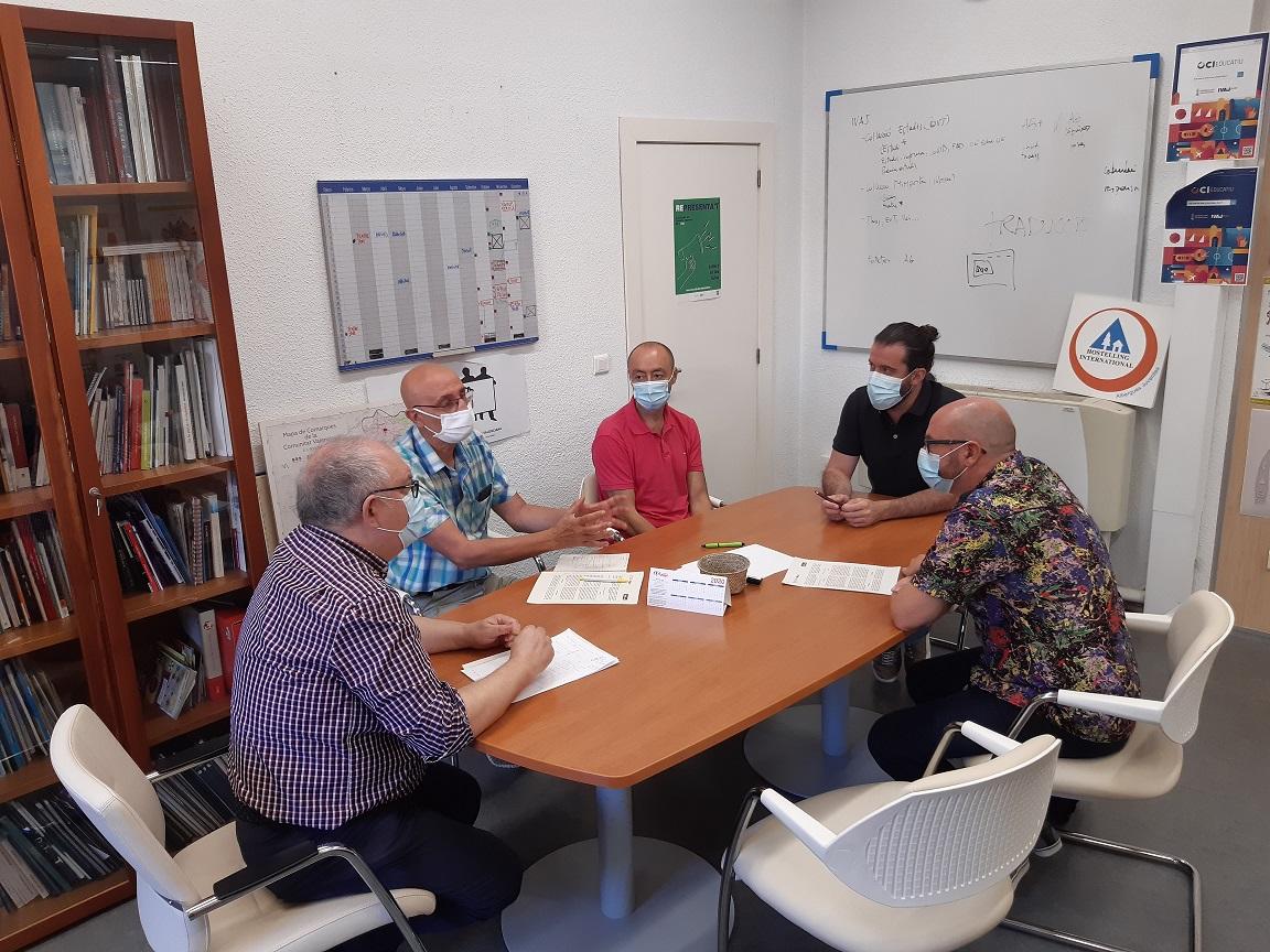 El IVAJ y Xarxa Joves.net se reúnen para poner en marcha un laboratorio de políticas municipales de juventud
