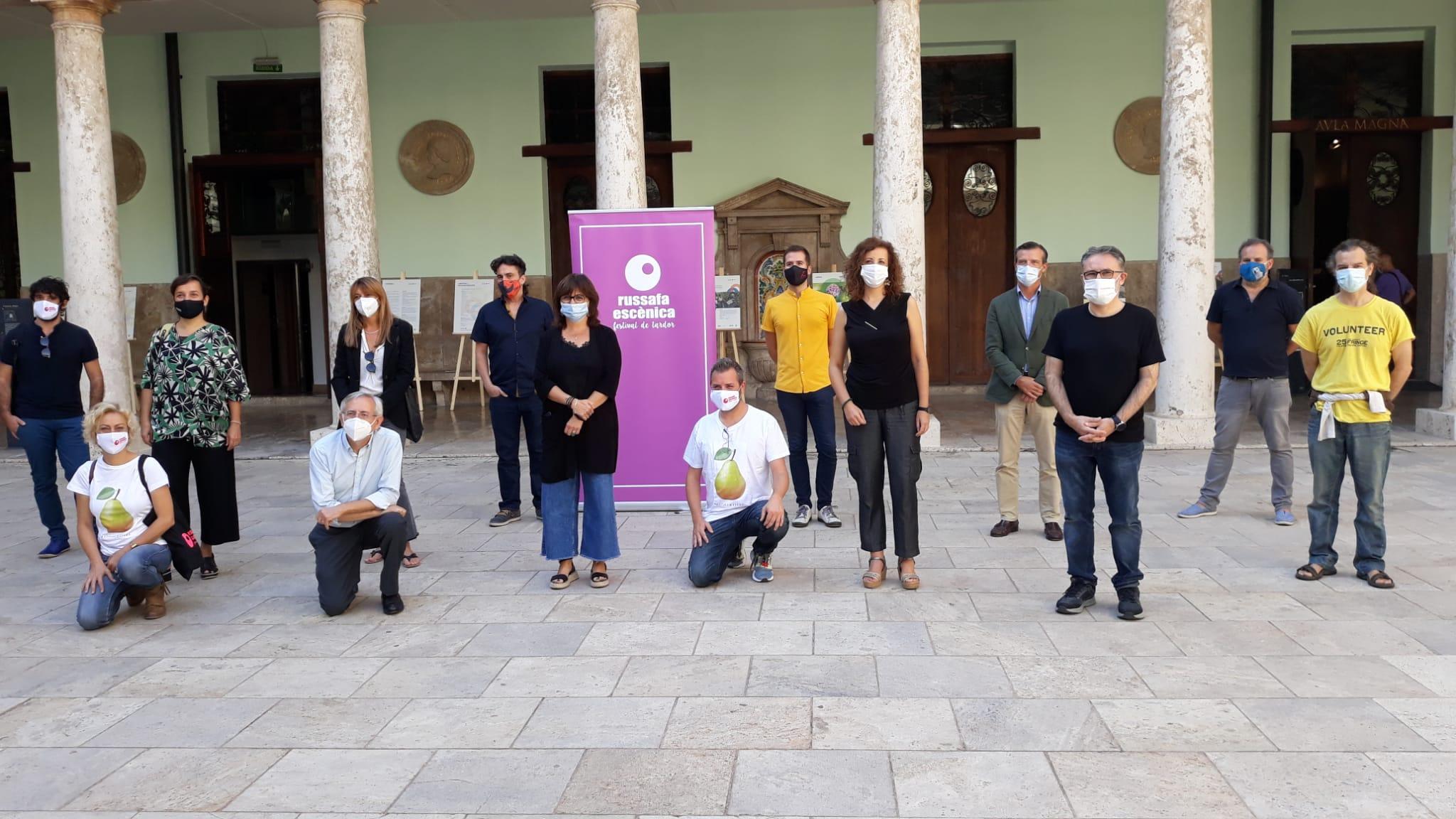 """Cultura participa en el festival """"Russafa Escènica"""" con espectáculos en San Miguel de los Reyes, el Rialto y el Centre del Carme"""