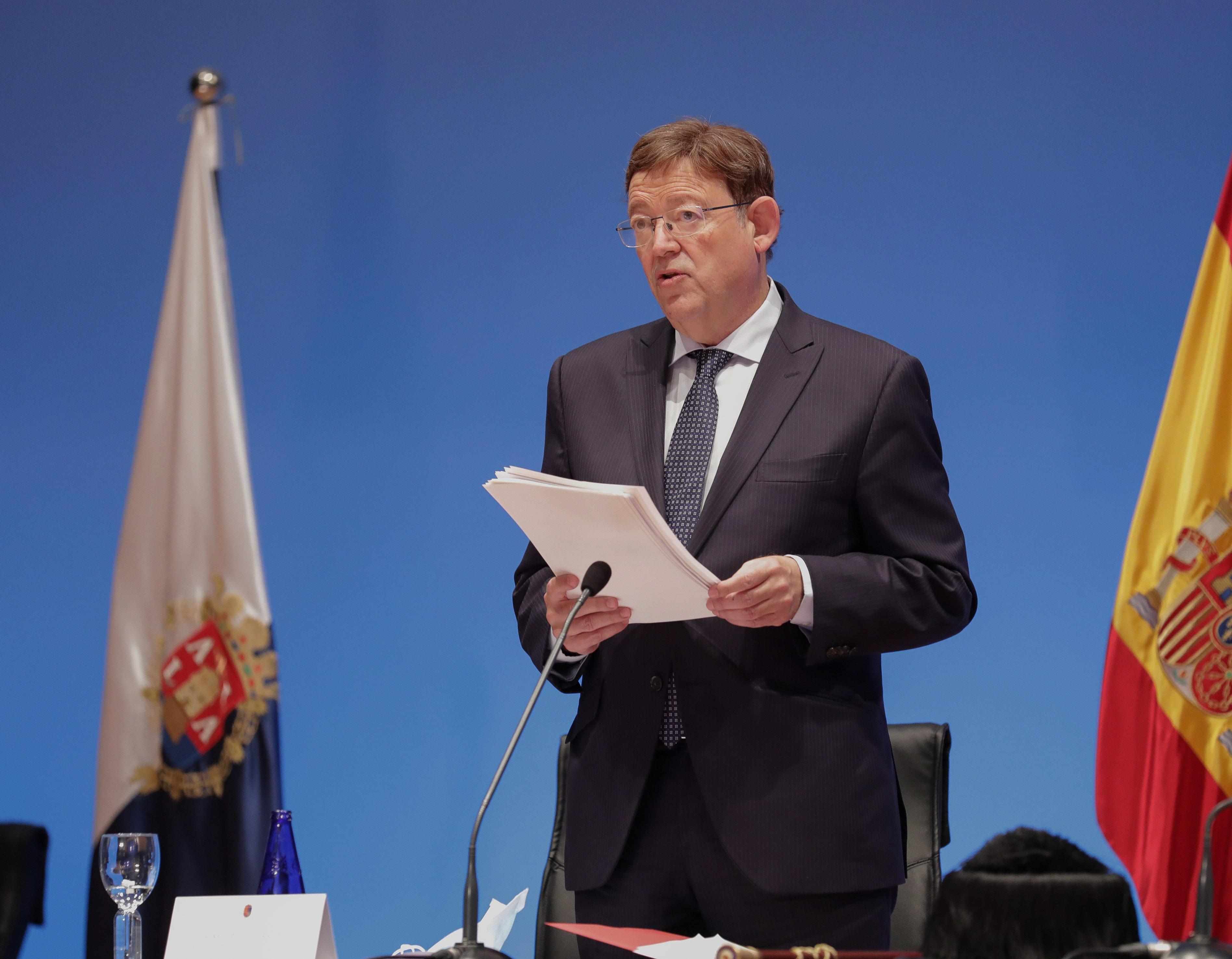 Ximo Puig anuncia proyectos en el ámbito científico por valor de 425 millones de euros para fortalecer la Estrategia de Recuperación de la Comunit...