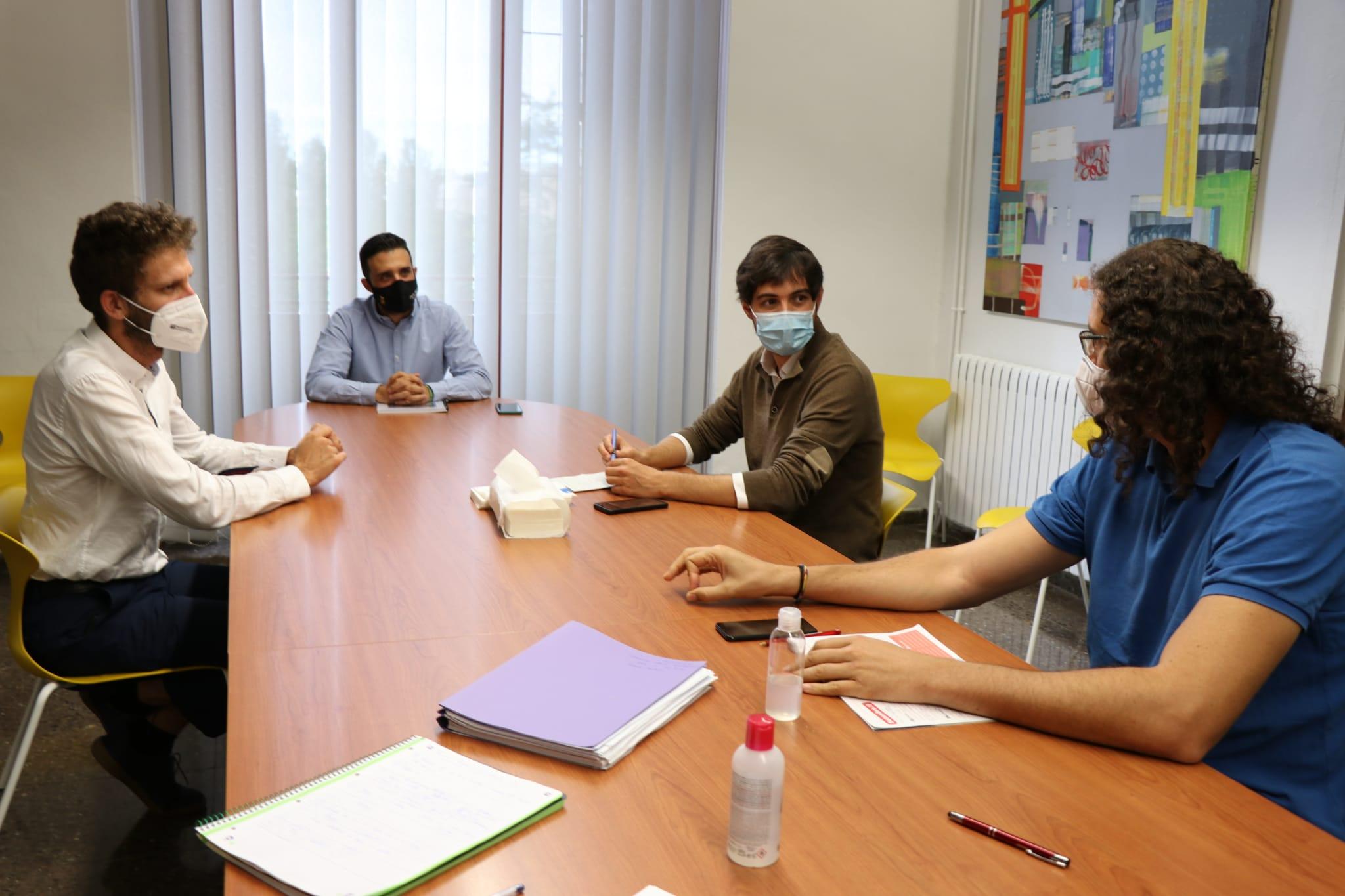 """La Conselleria d""""Habitatge i l""""Ajuntament de Sagunt es reuneixen en una mesa tècnica sobre els IEE i la rehabilitació de Baladre"""