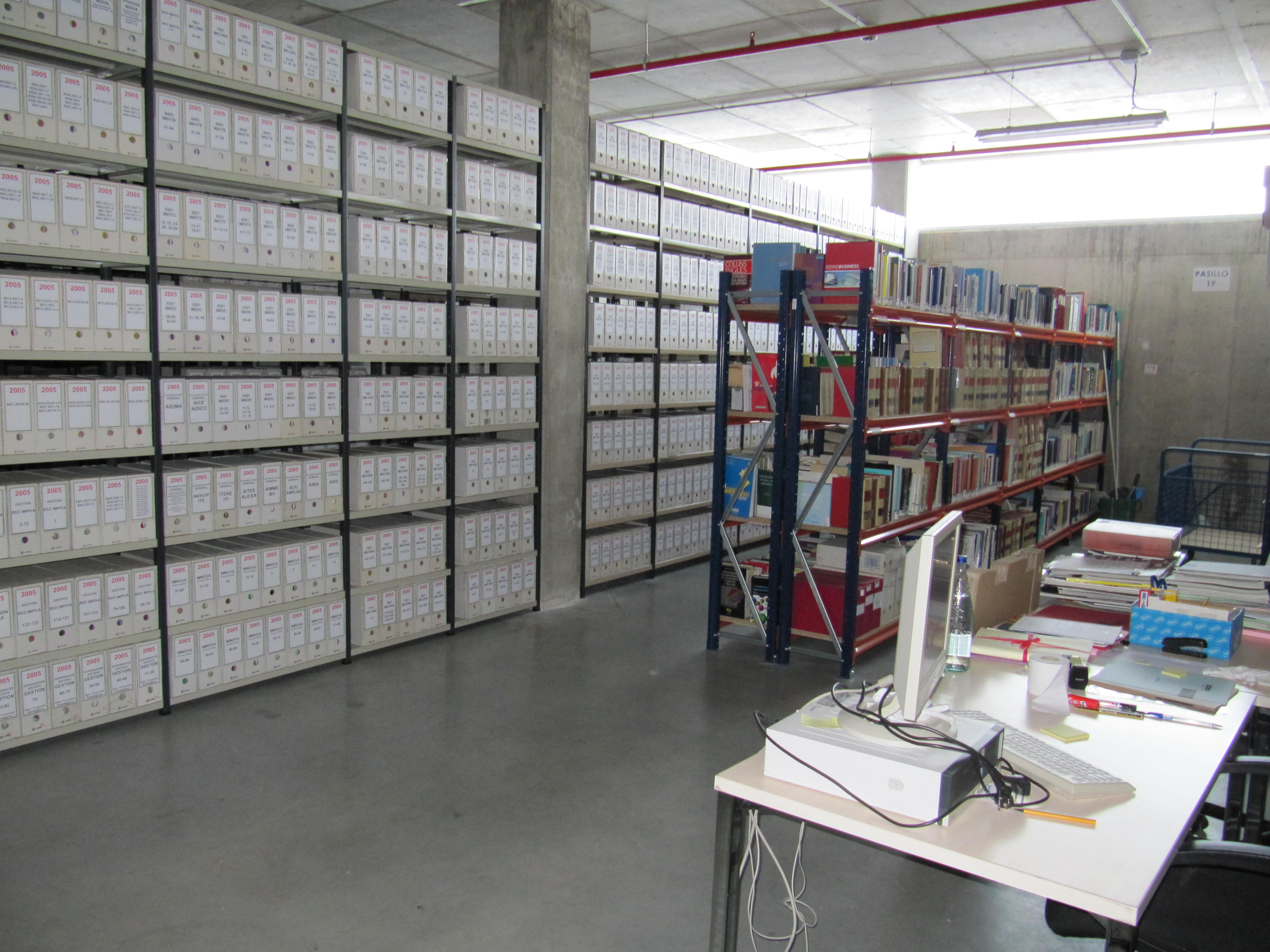 La Conselleria de Hacienda renueva la climatización del Archivo de Riba-roja donde se custodian más de 20 millones de documentos