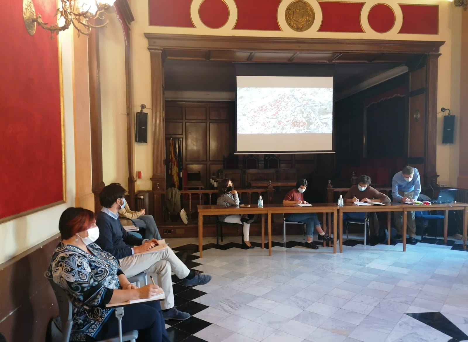 La Conselleria de Vivienda participa en la creación del Observatorio Municipal de la Vivienda de Alcoy