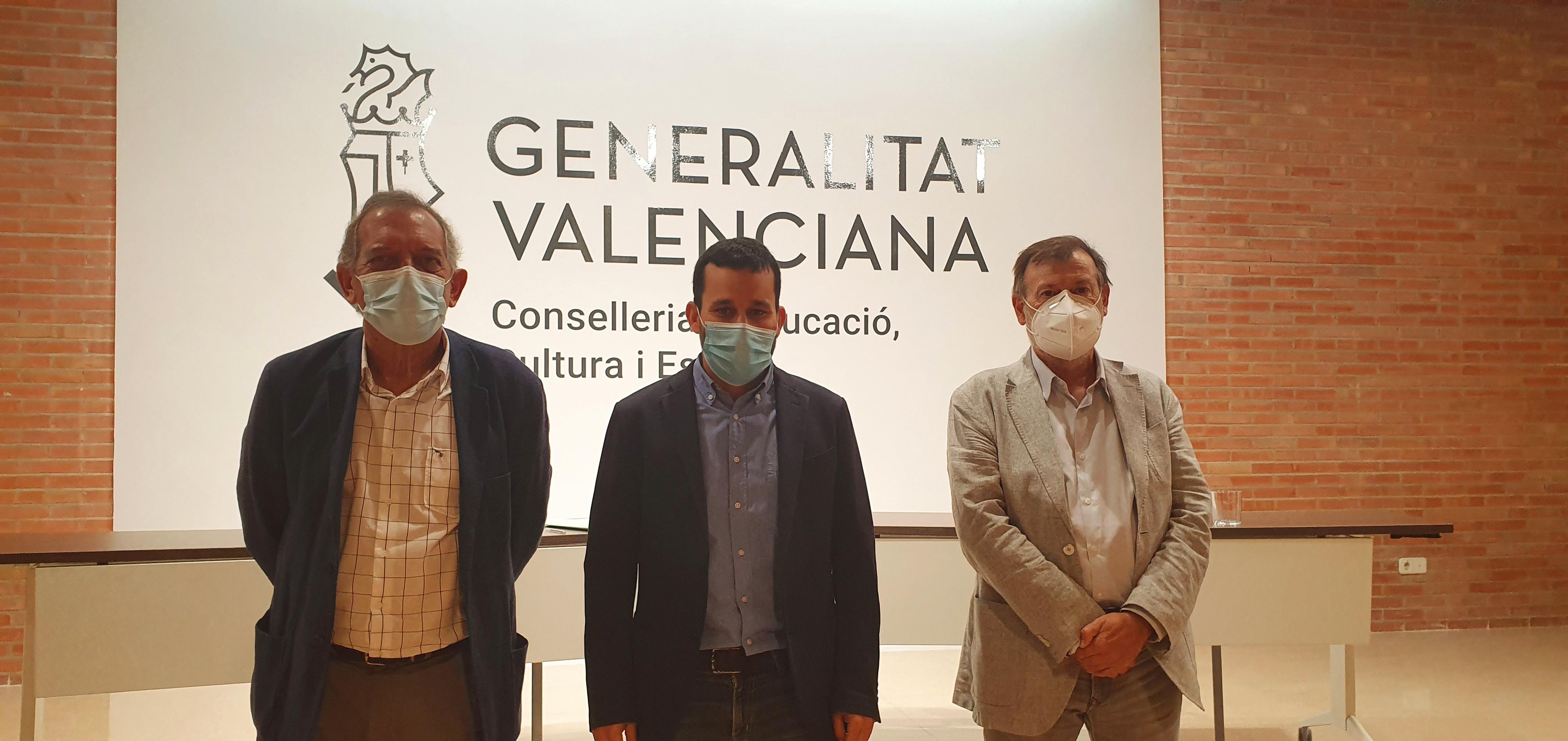 """Marzà: """"Reforzamos la FP valenciana con mecanismos de atracción de alumnado y de innovación pedagógica y digital"""""""