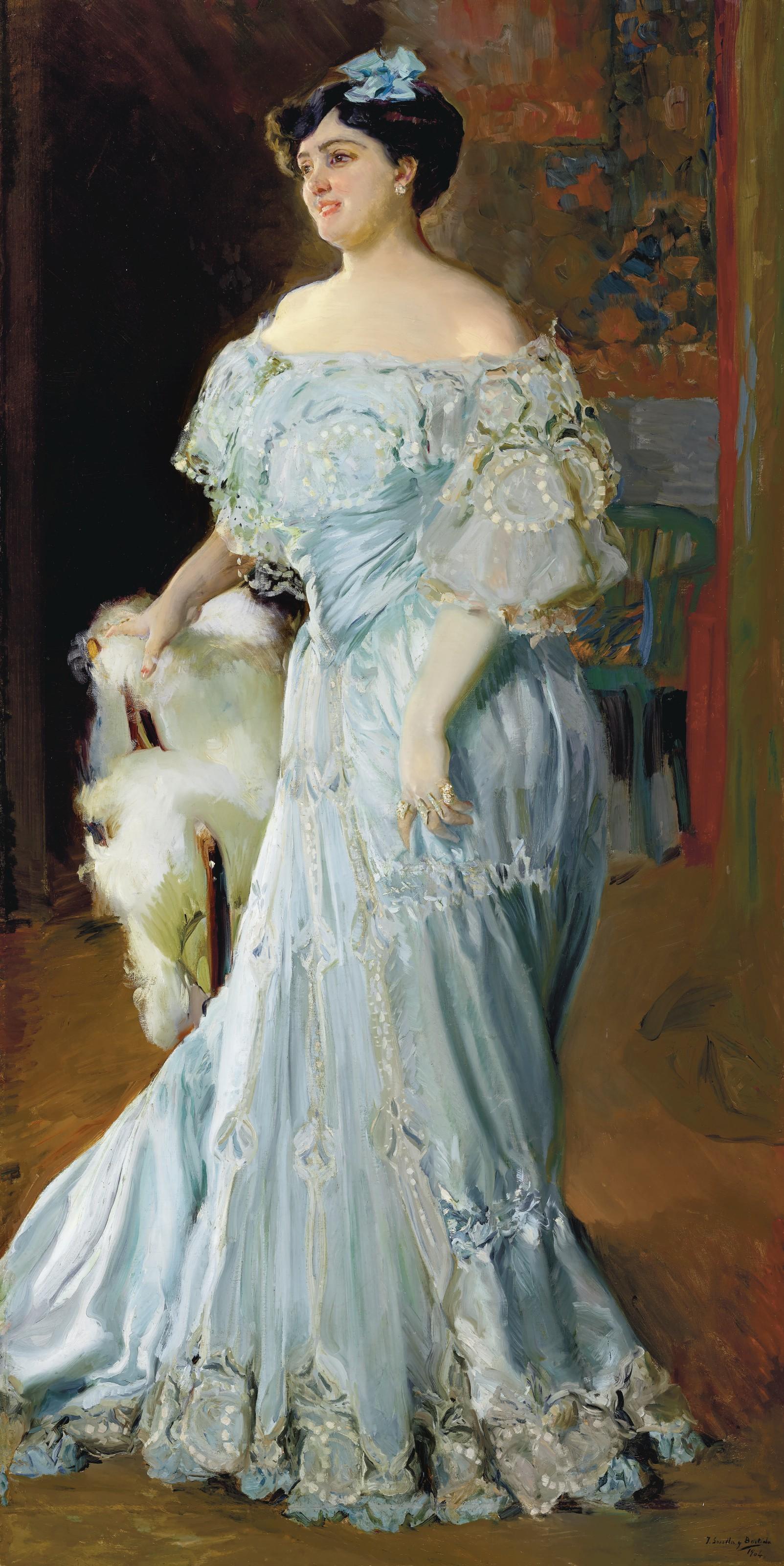 """El Museo de Bellas Artes de València adquiere """"Retrato de la tiple Isabel Brú"""" de Sorolla"""
