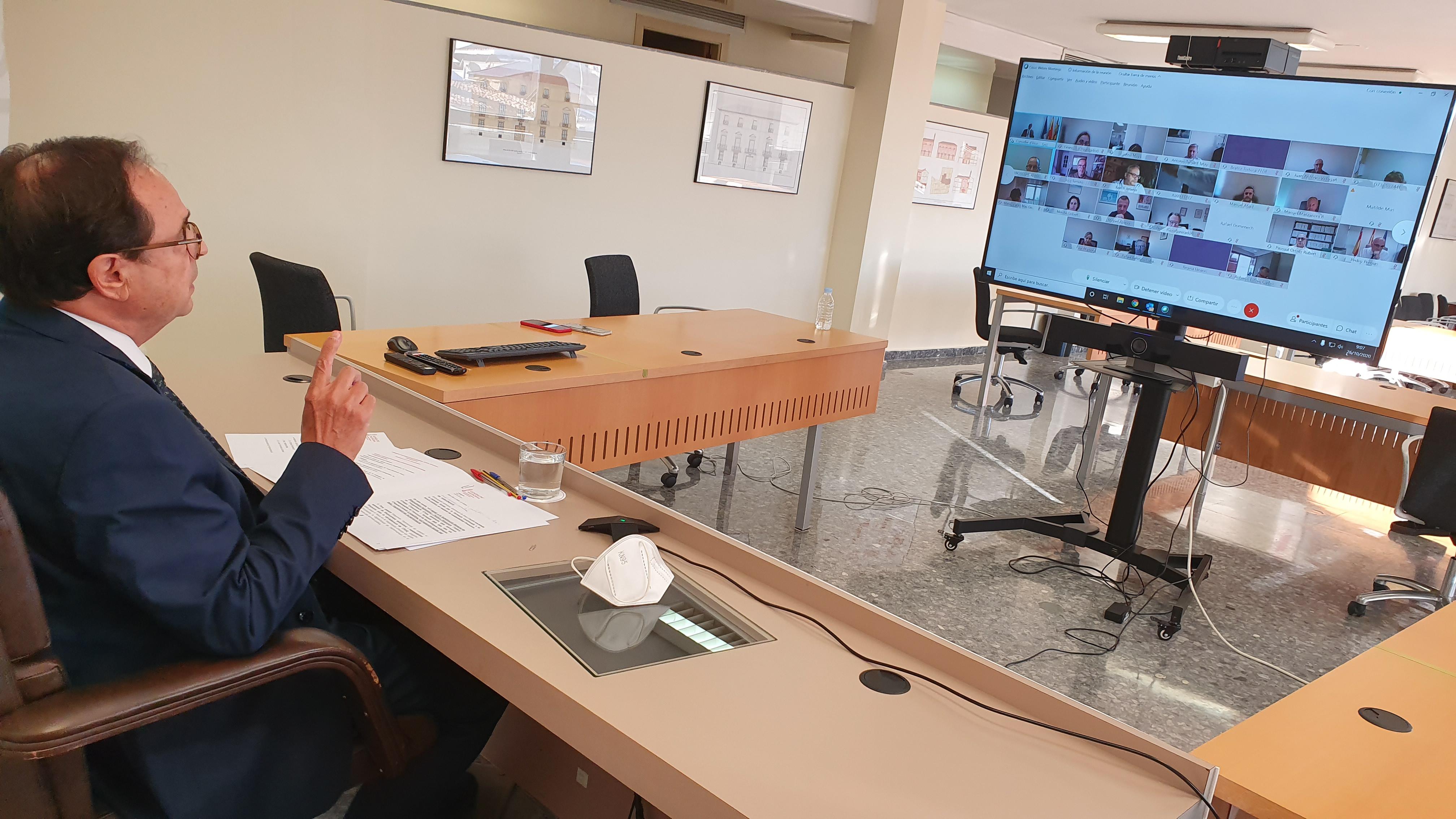 Soler destaca el reto de la digitalización de la Administración para garantizar un eficaz funcionamiento de los servicios públicos