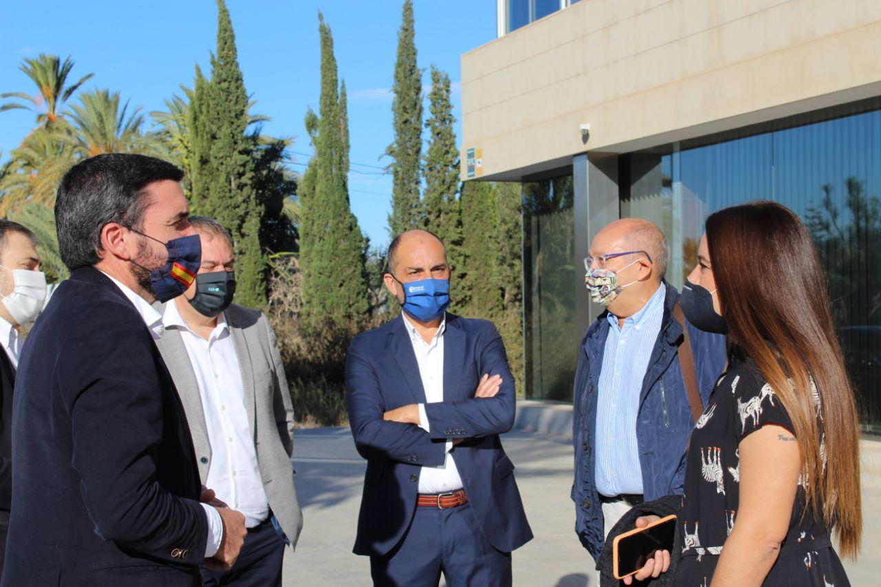 Mollà anuncia alegaciones al esquema de temas importantes del Tajo para garantizar el interés de regantes y el abastecimiento en el sur de Alicante