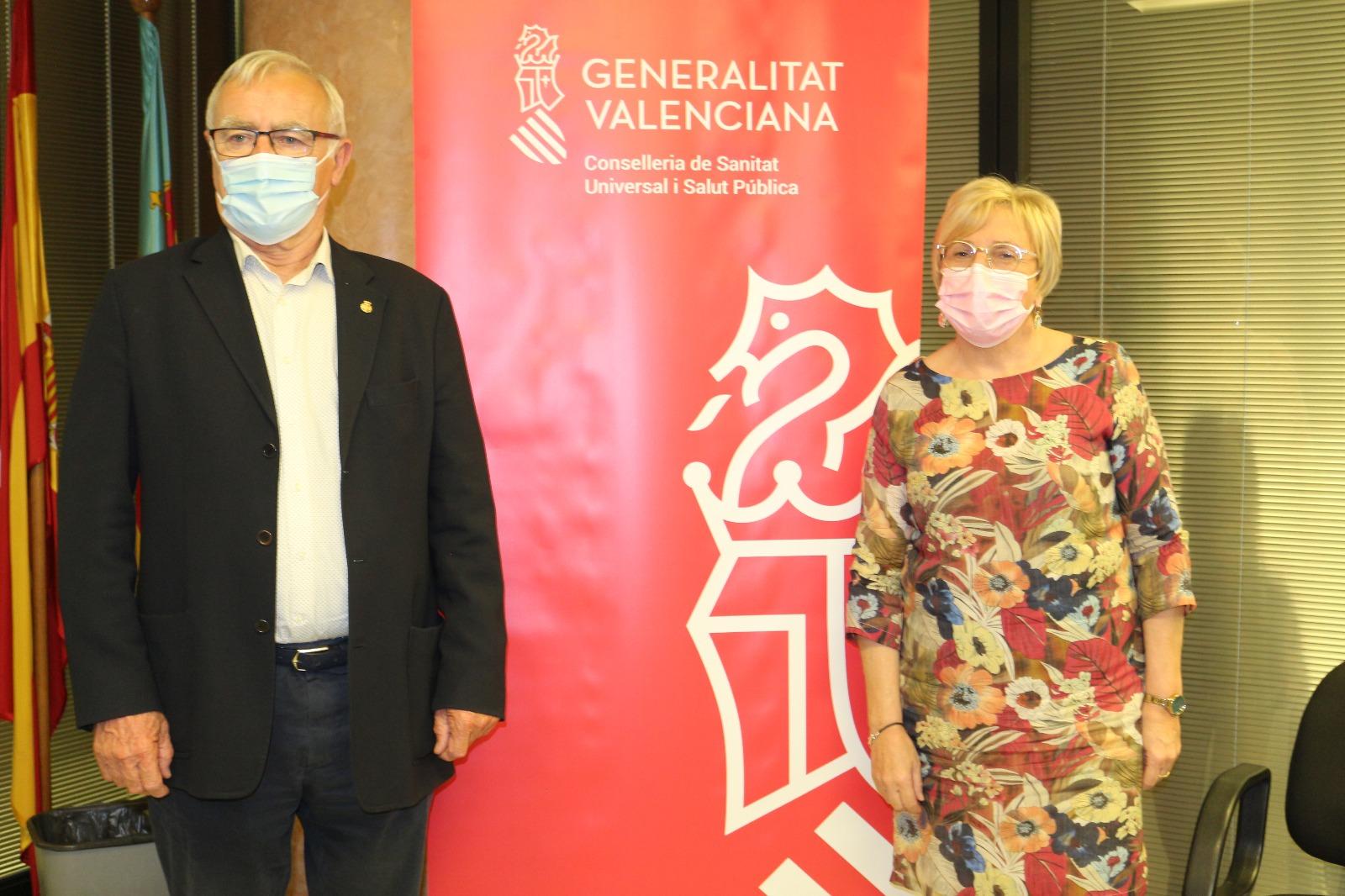"""Barceló: """"Esta reunión pone de manifiesto que la Conselleria y el Ayuntamiento trabajamos codo con codo para hacer frente a esta pandemia"""""""